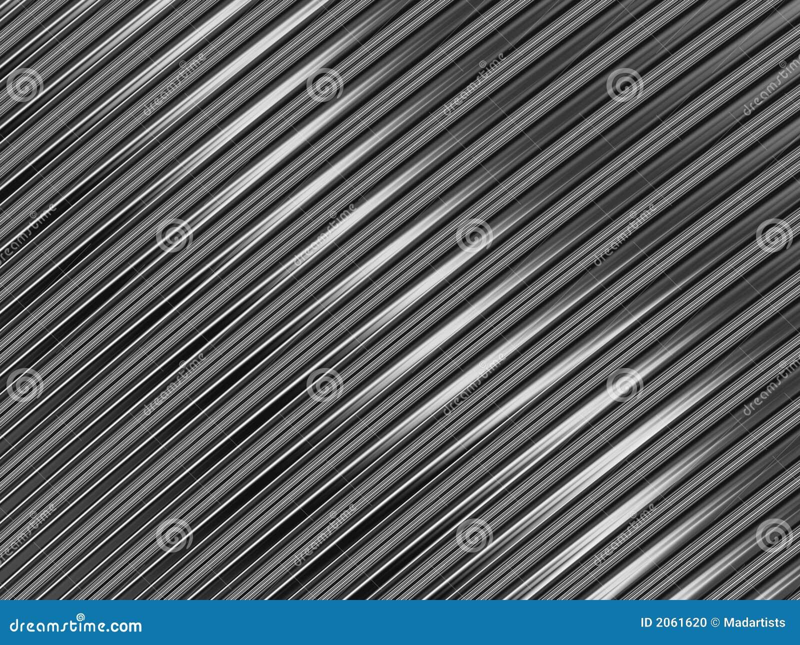 Srebrna metalicznej struktura metalowa