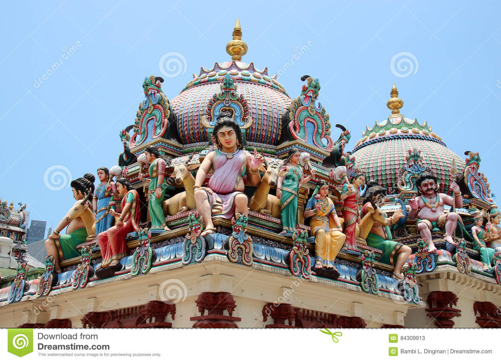 Sri Świątynia Mariamman - Singapur