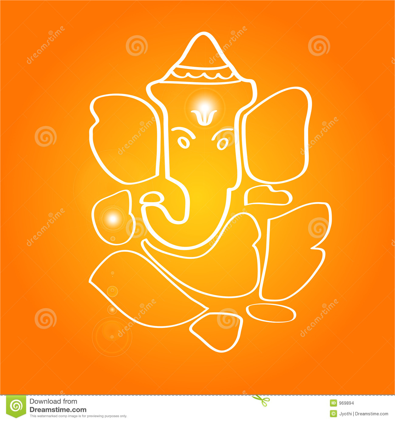 Hindu God Ganesh Drawing Sri ganesha - the hindu deity
