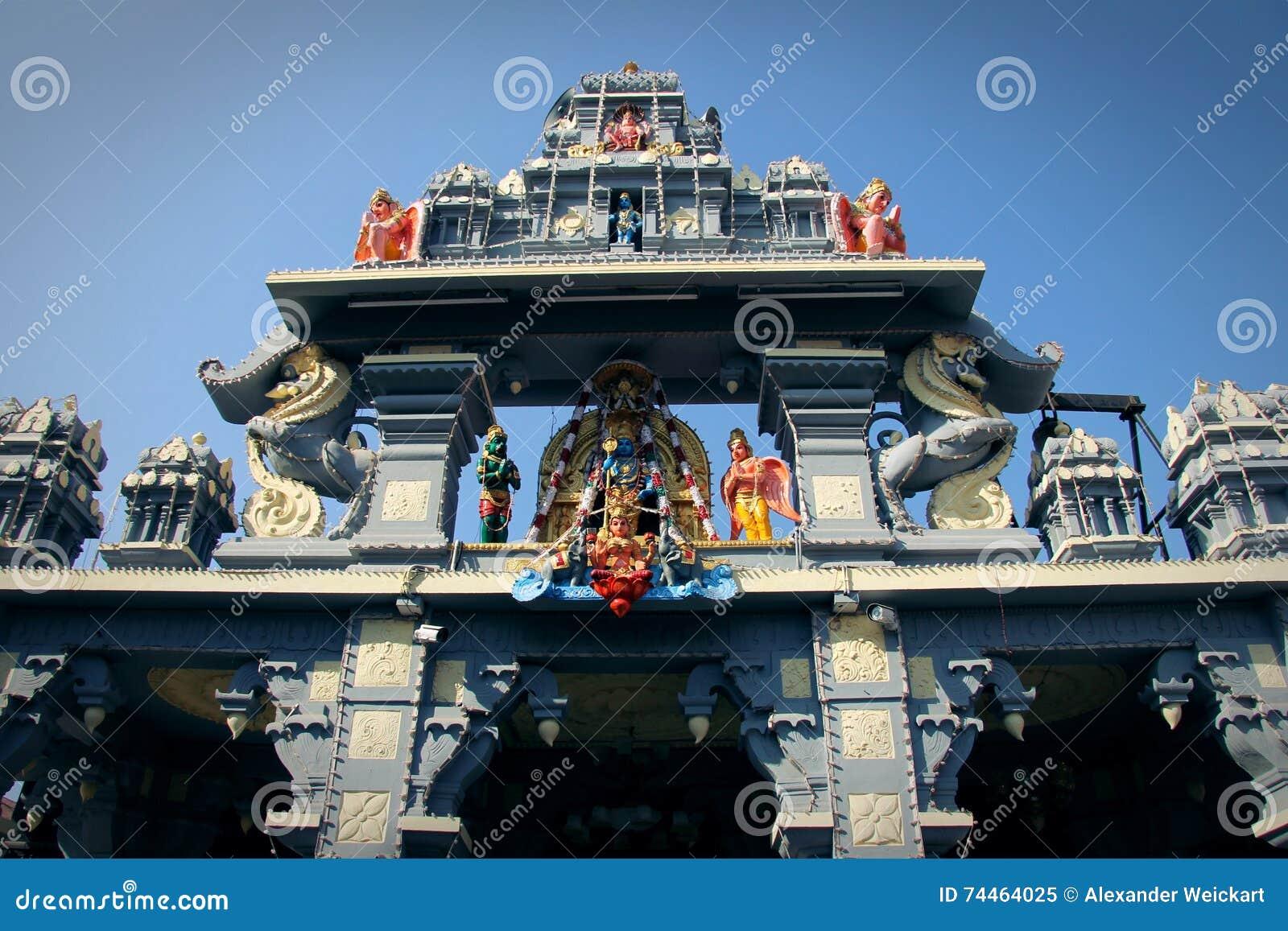 Sri Krishna Matha tempel - Udupi, Karnataka, Indien