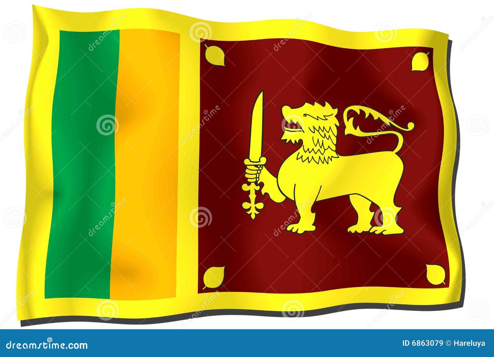 Sri lanka флага