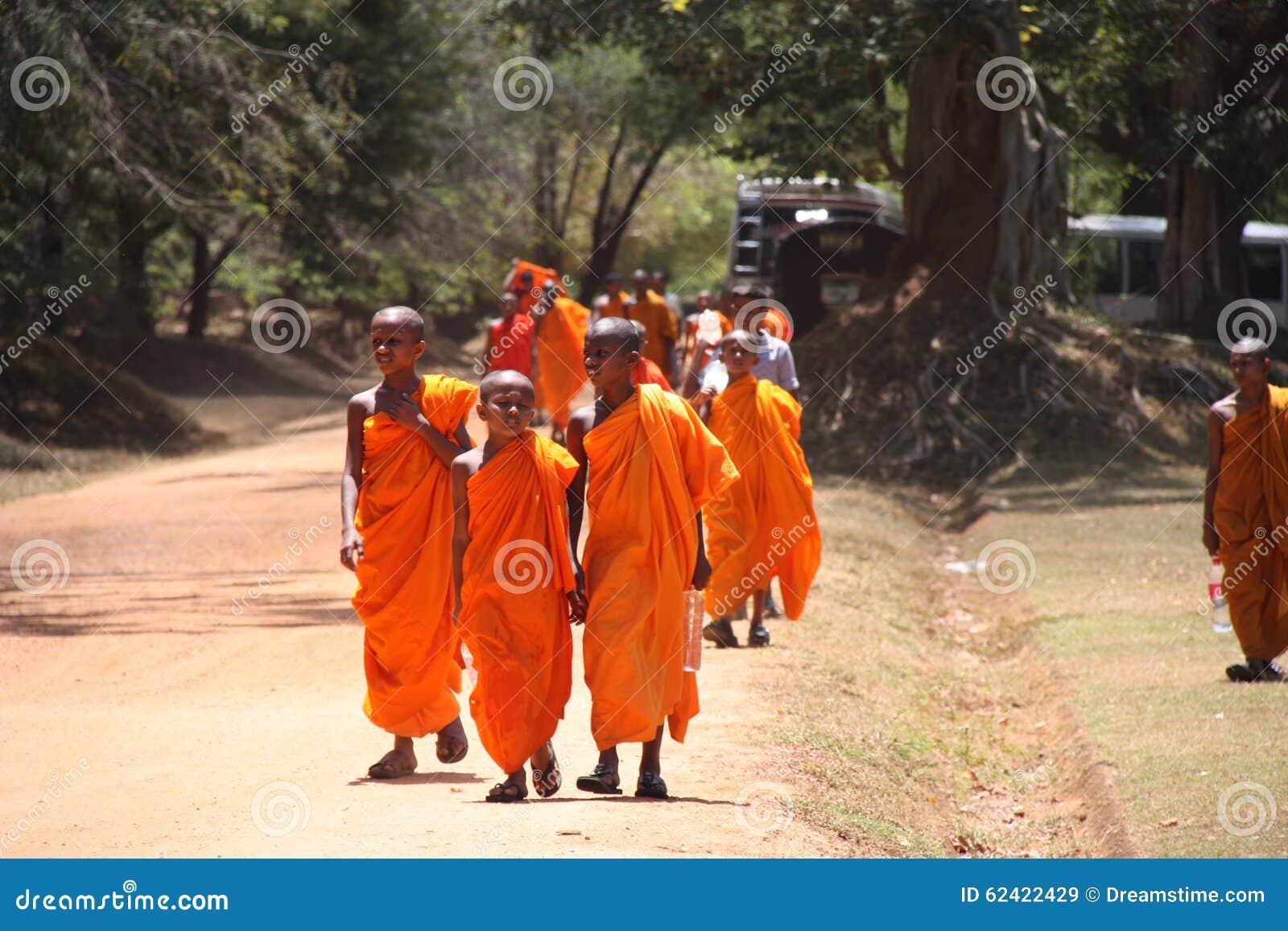 Sri Lanka-Mönche