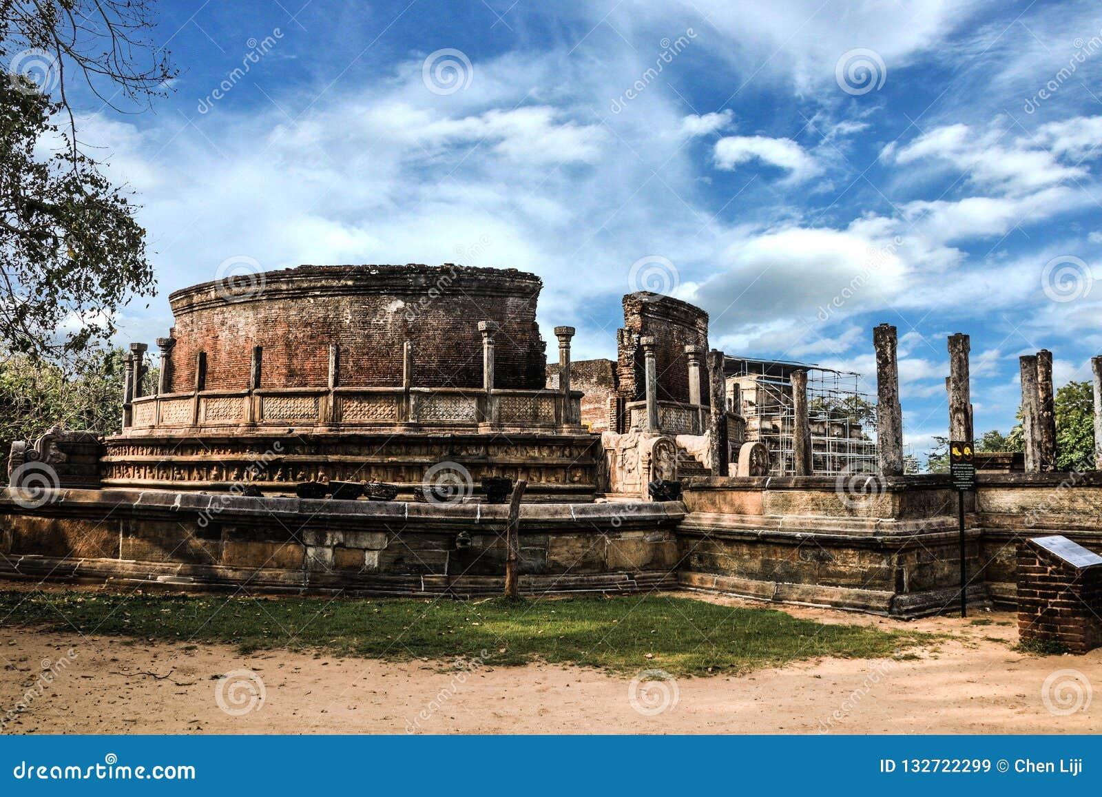 Sri Lanka Polonnaruwa Polonnaruwa Vatadage