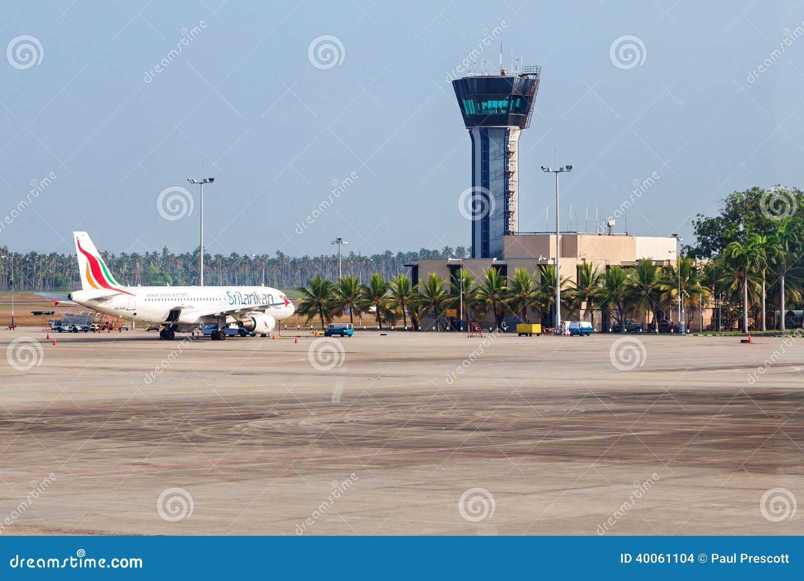 Sri lankan airplane parked on apron editorial stock image - Sri lankan passport office in colombo ...