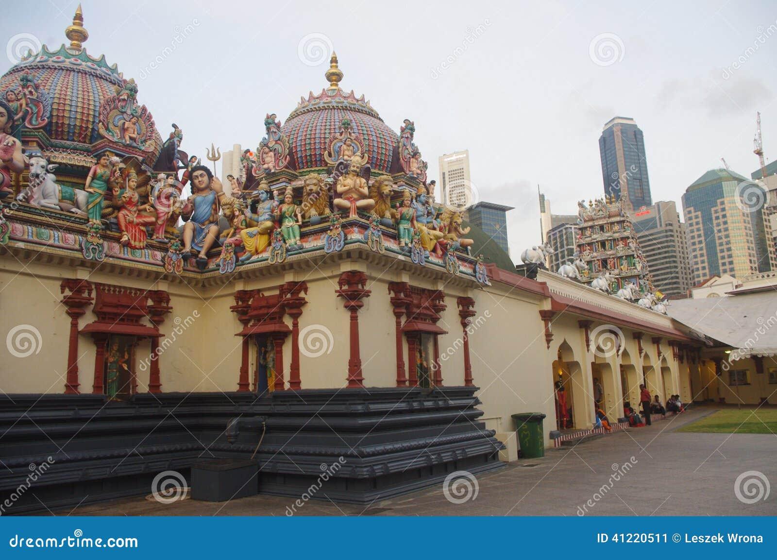 Sri Mariamman świątynia w Singapur Chinatown