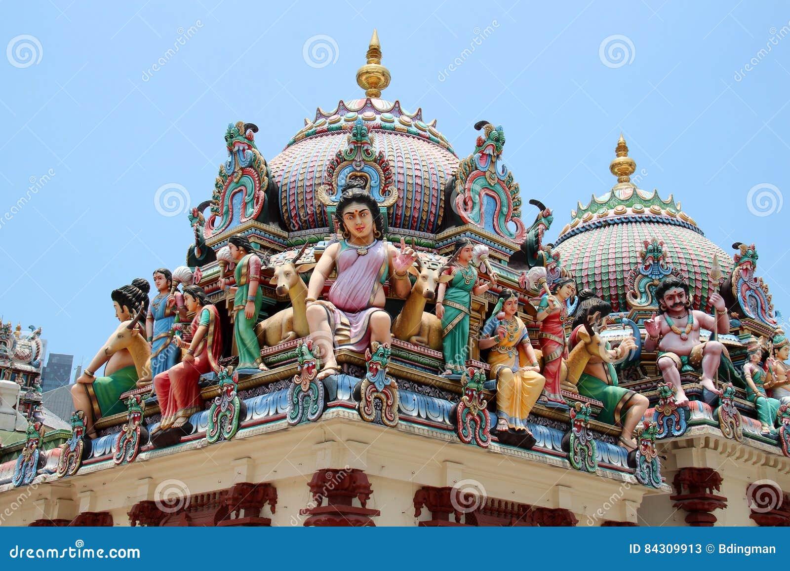 Sri Mariamman tempel - Singapore