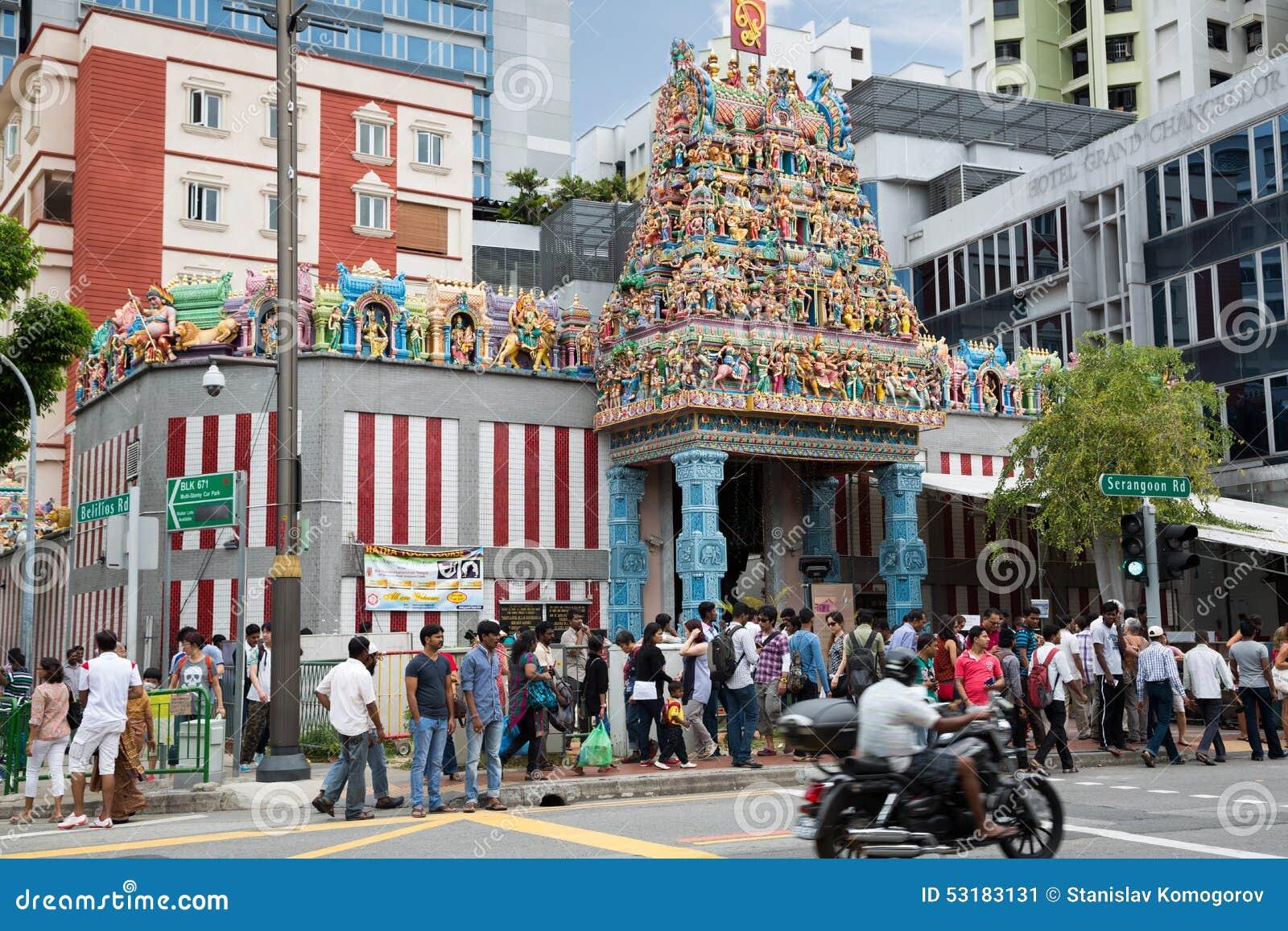 sri veerama kaliamman temple in little india singapore. Black Bedroom Furniture Sets. Home Design Ideas