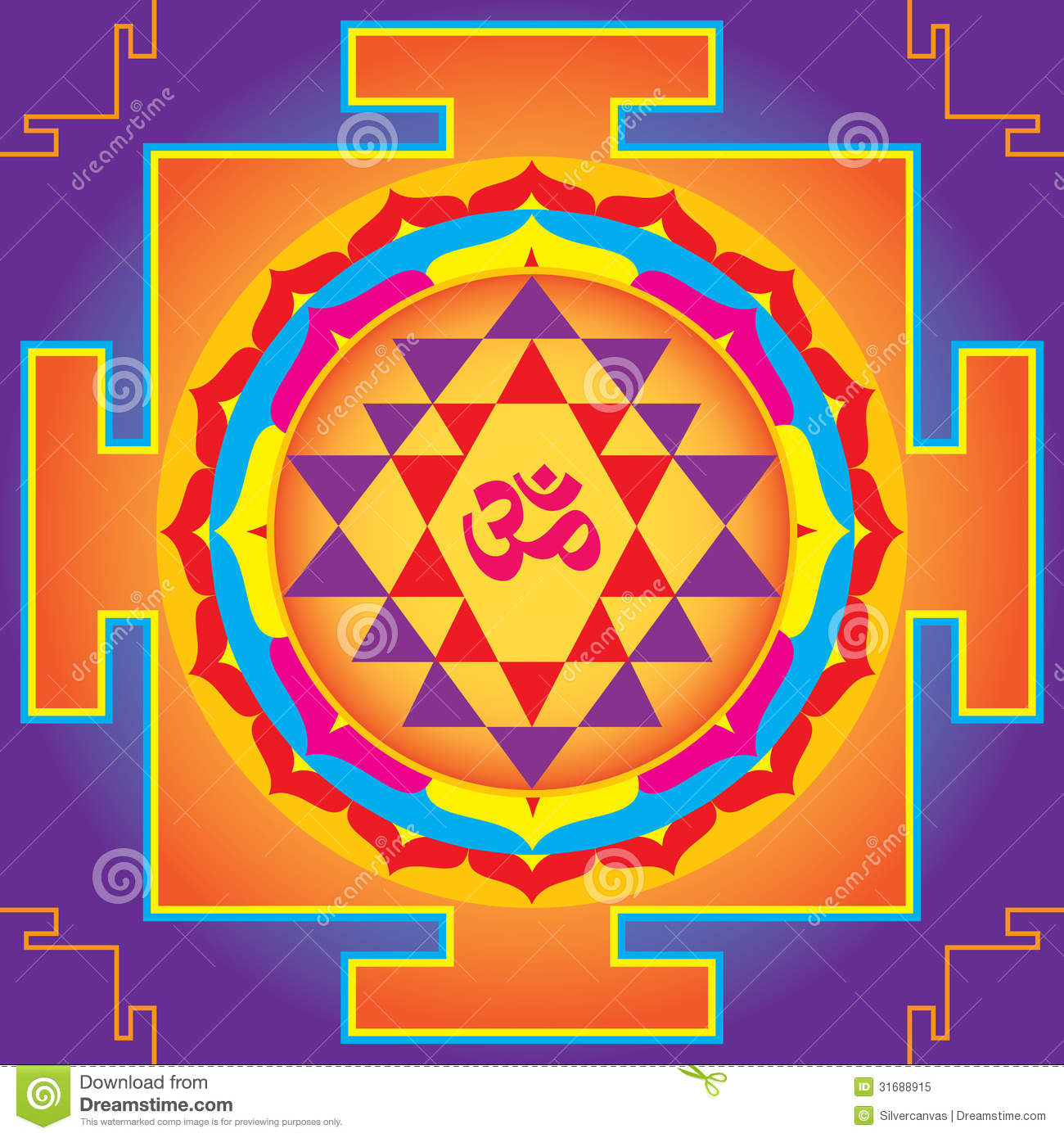 The Sri Yantra. Royalty Free Stock Photo - Image: 31688915 Sacred Geometry 3d Shapes