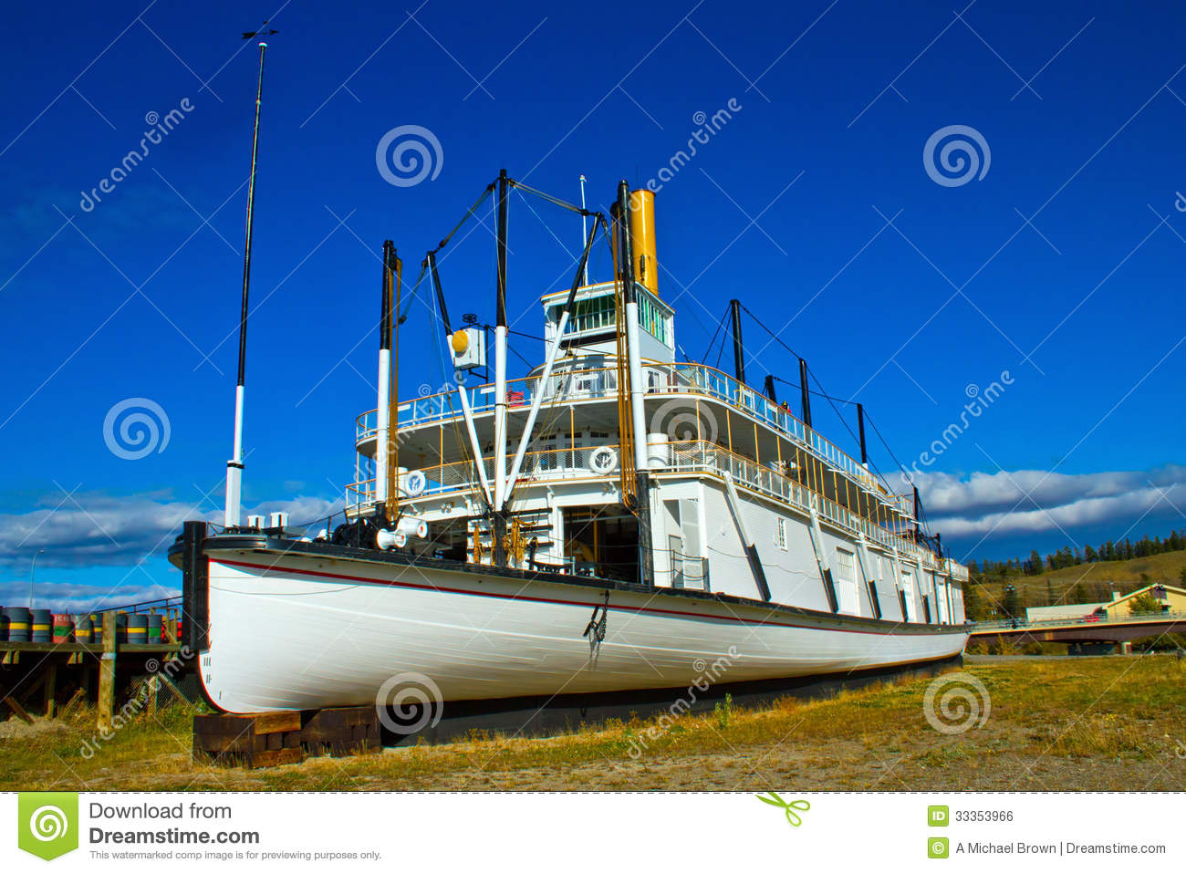 The SS Klondike in Whitehorse, Yukon, Canada, a National Historic Site ...