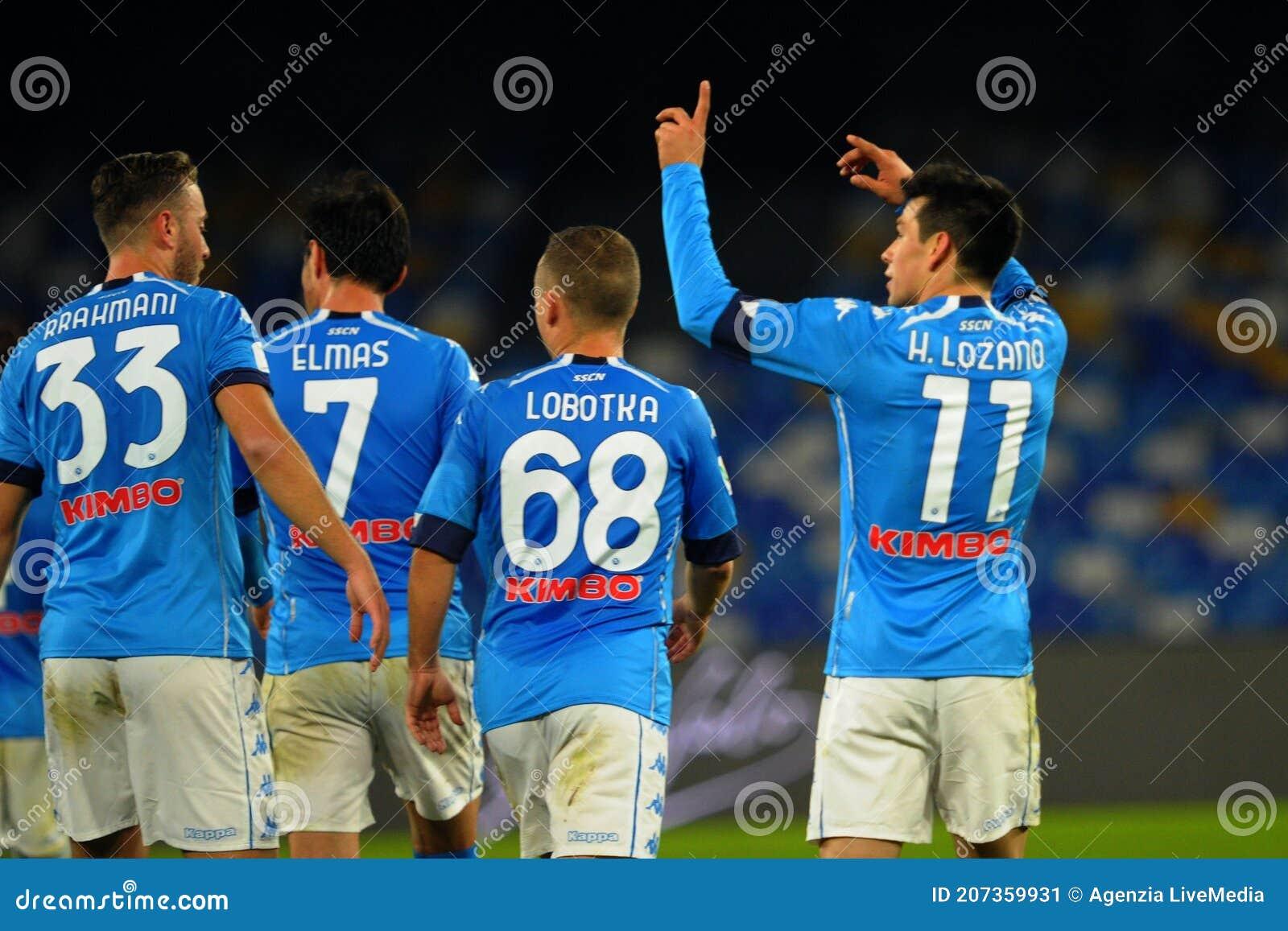 SSC Napoli vs Empoli FC editorial photo. Image of calcio - 207359931