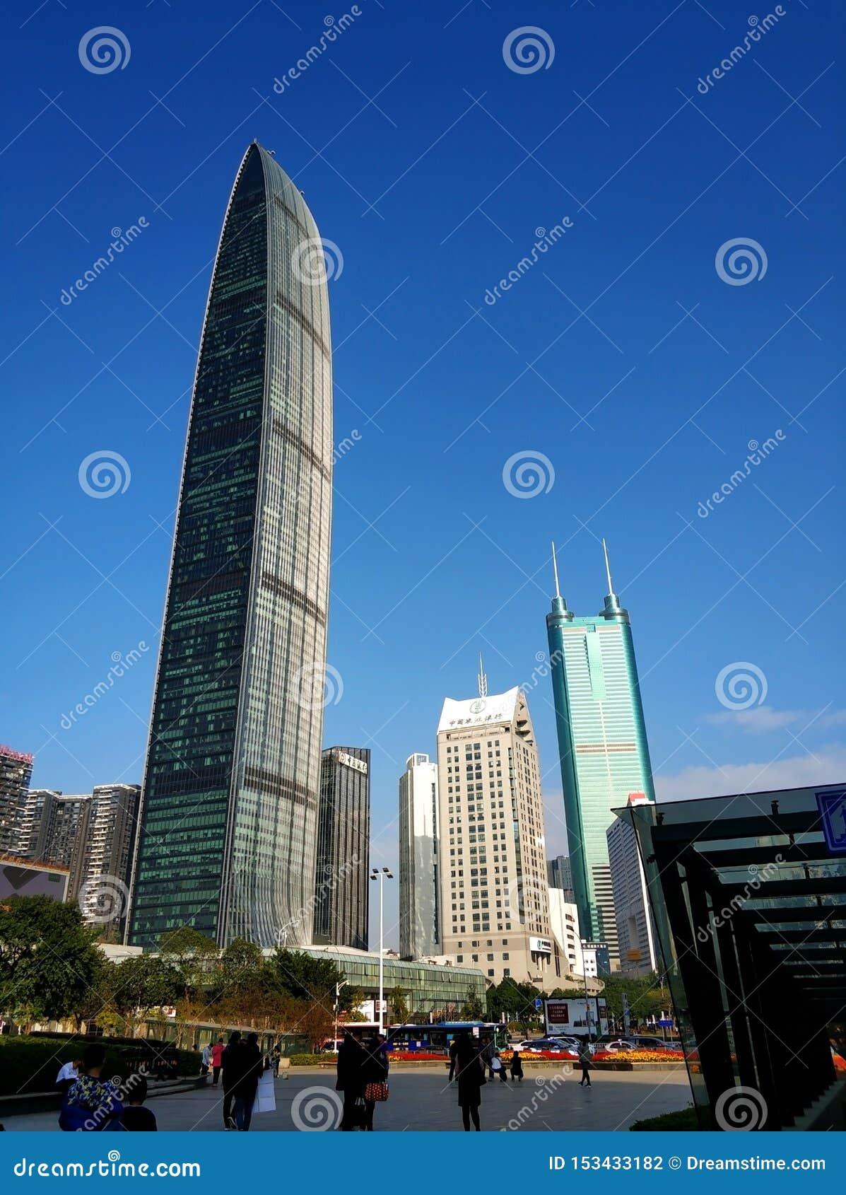 Städtische Architekturlandschaft Shenzhens, jingji 100