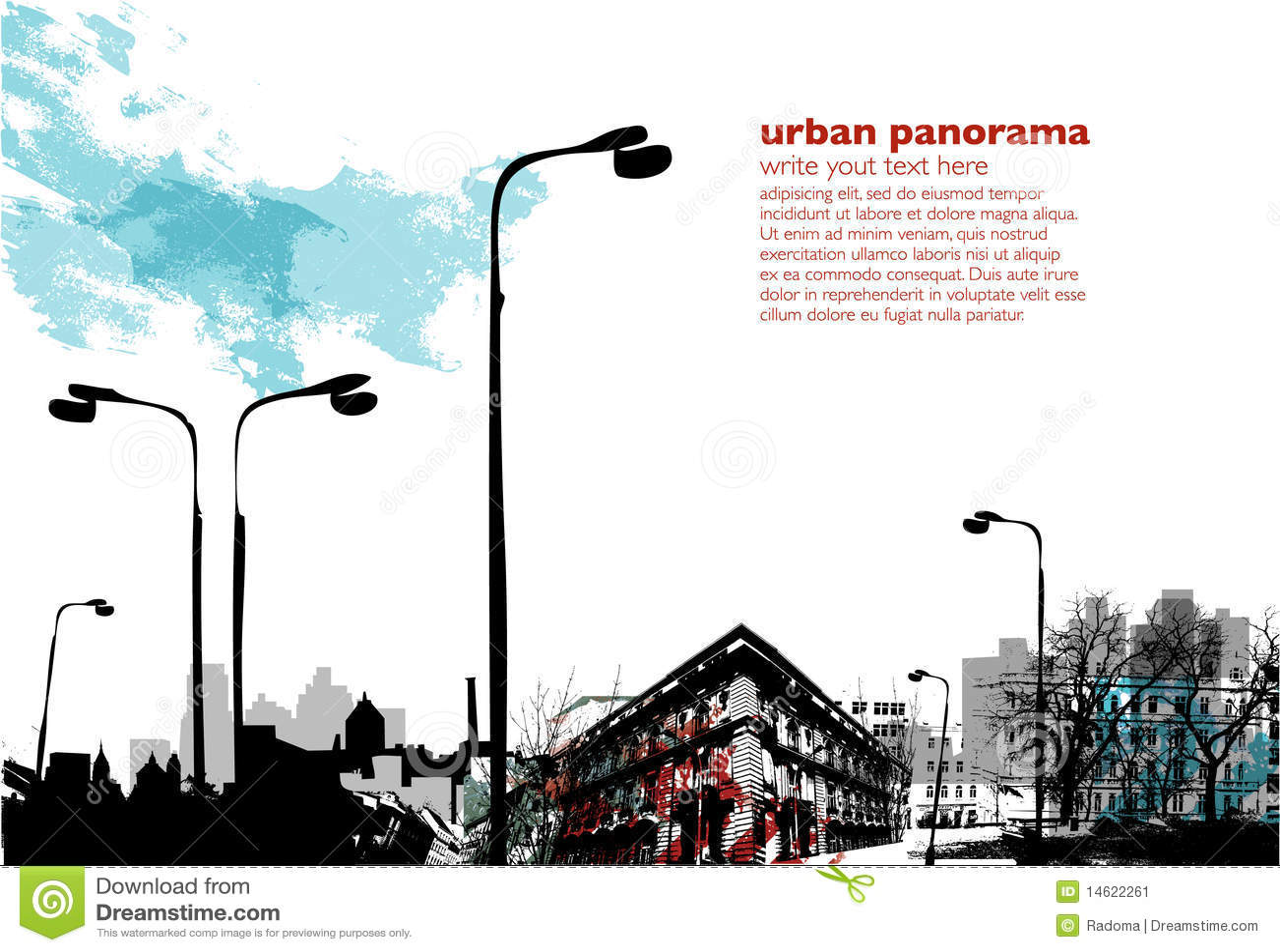 Städtische Collage