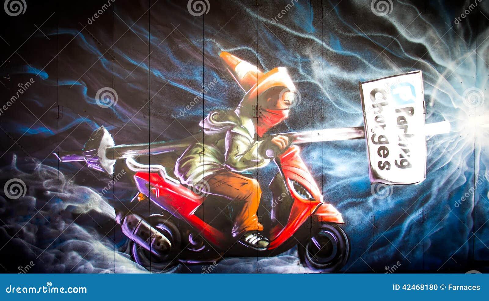 Städtische Graffiti