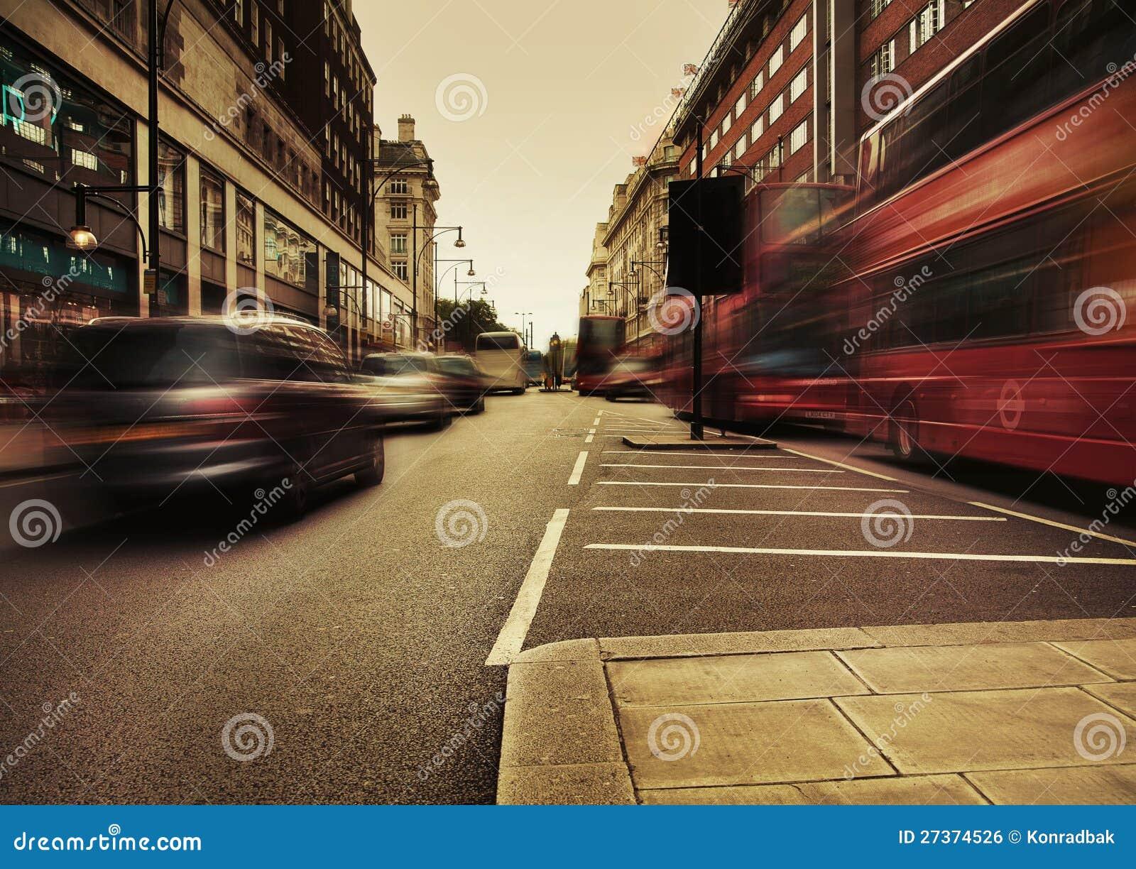 Städtischer Verkehr