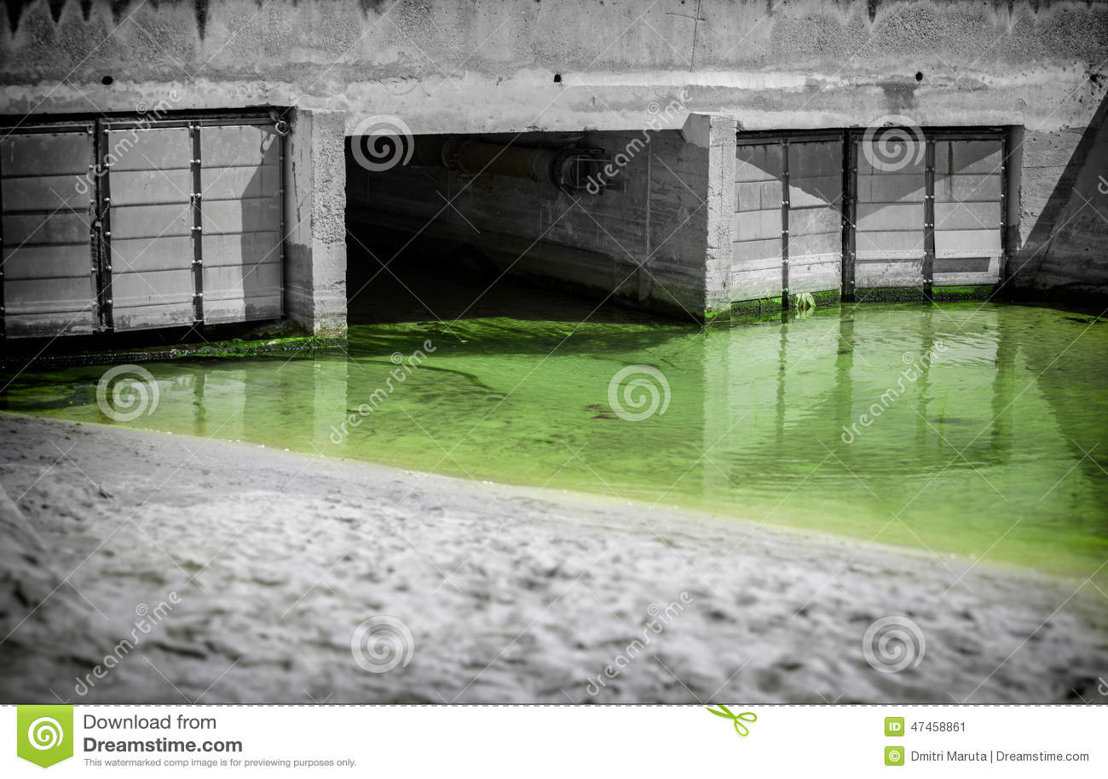 Städtisches Abwasser