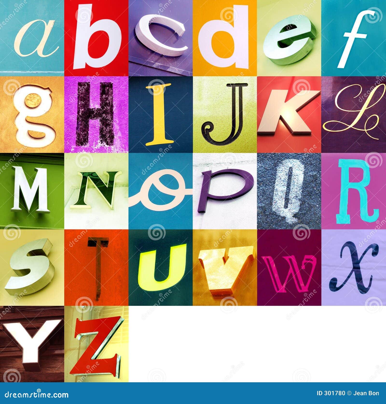 Städtisches Alphabet 2