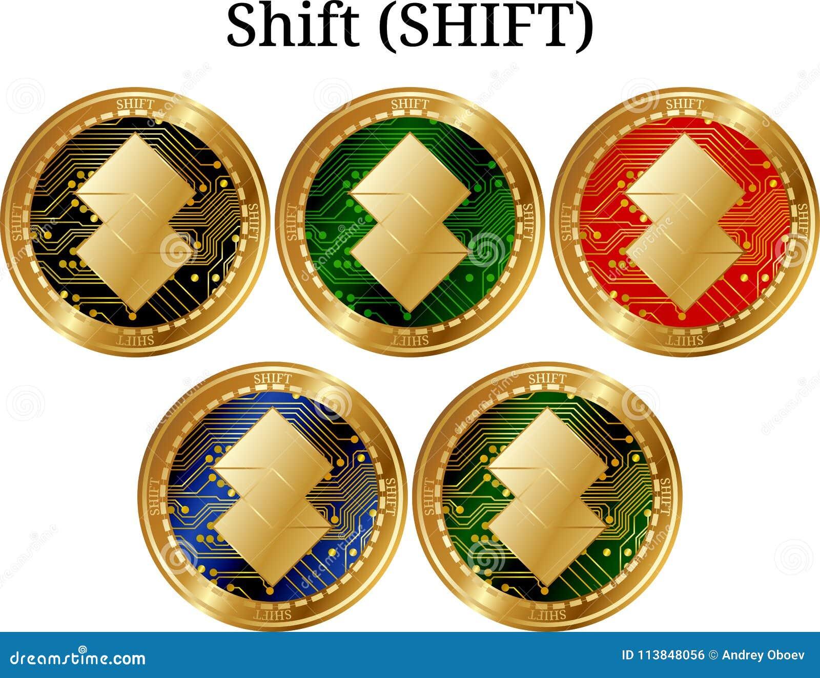 Ställ in av den fysiska guld- myntförskjutningen (FÖRSKJUTNINGEN)