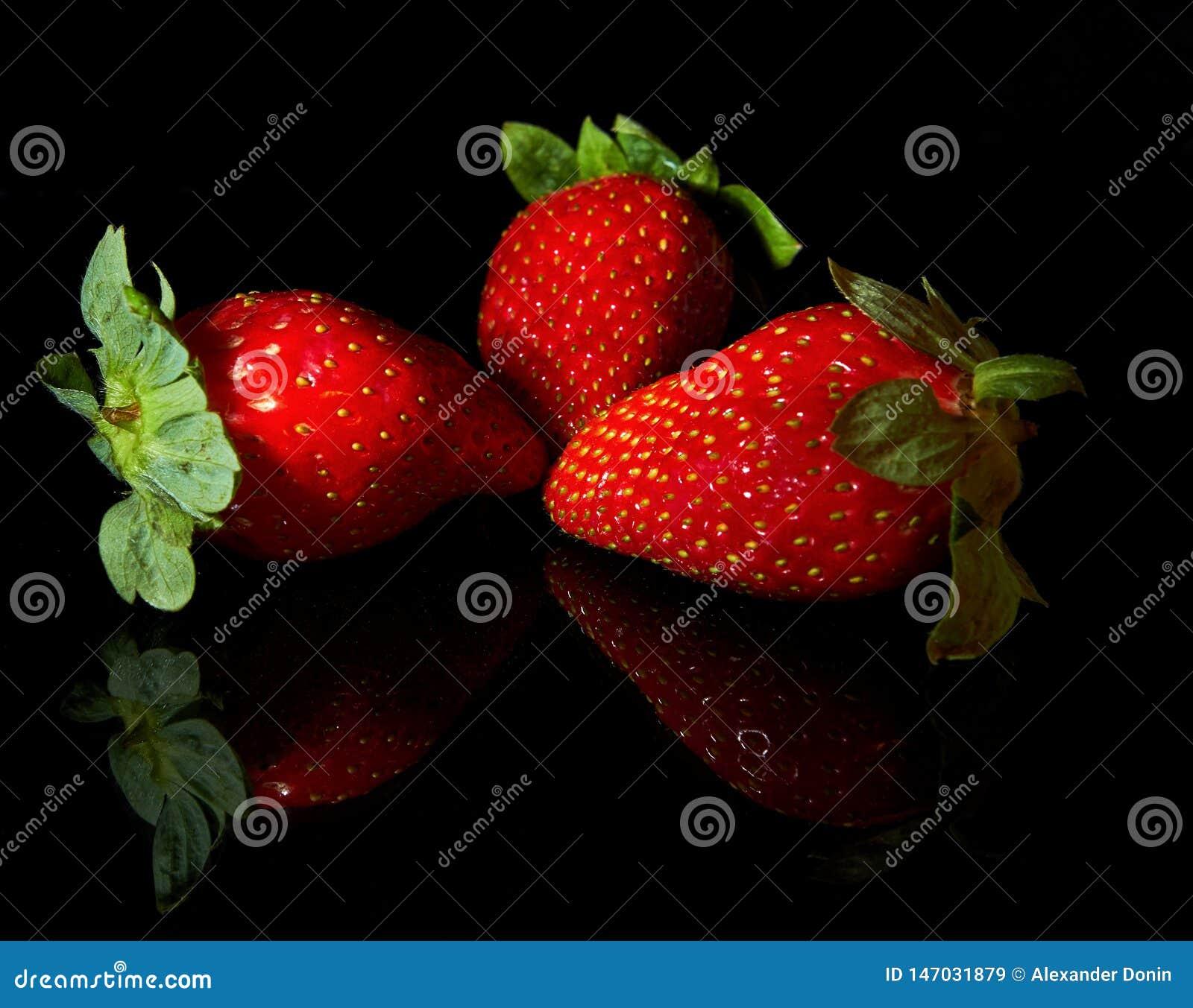 Ställ in från jordgubbar