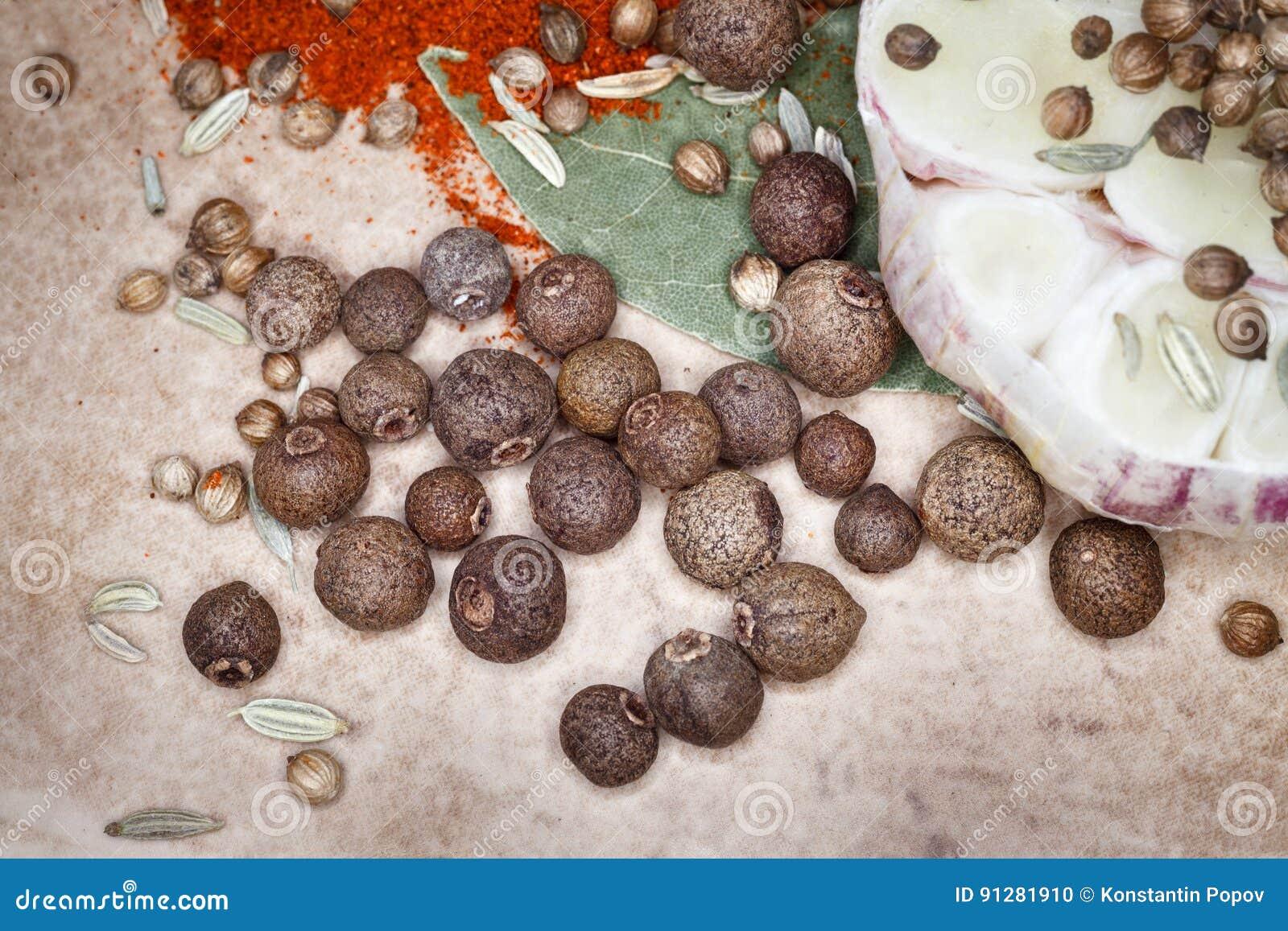 Ställ in kryddor