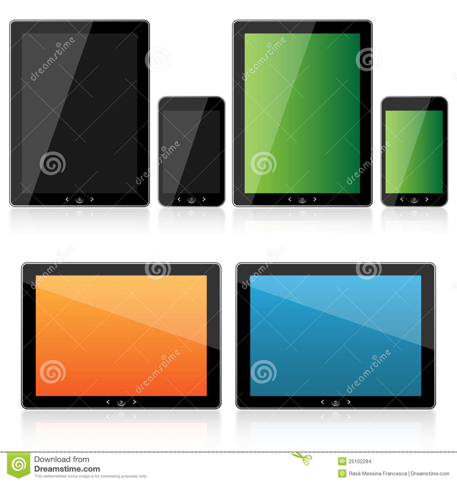 Ställ in smartphonetableten