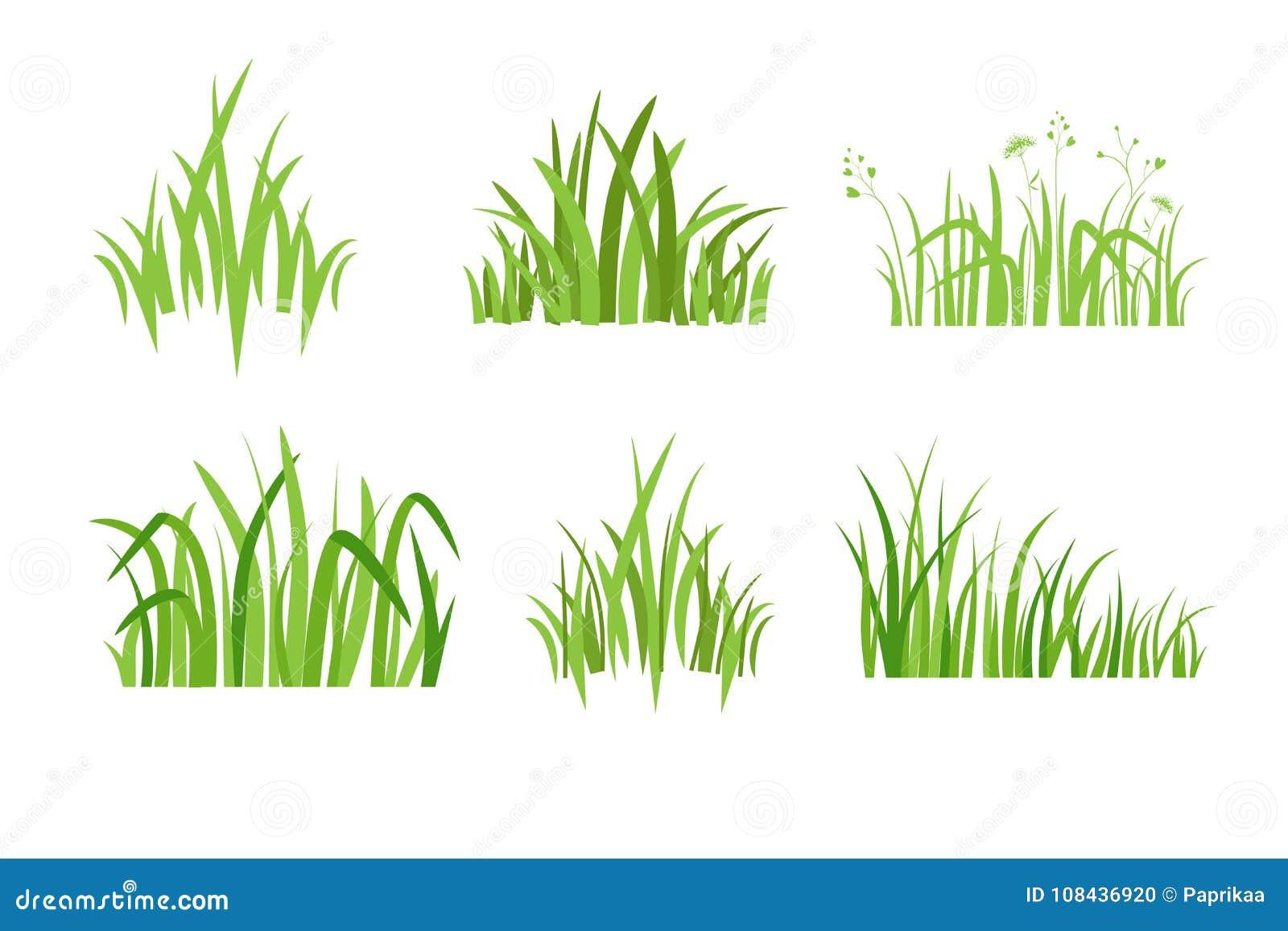 Ställ in symbolen Eco för grönt gräs
