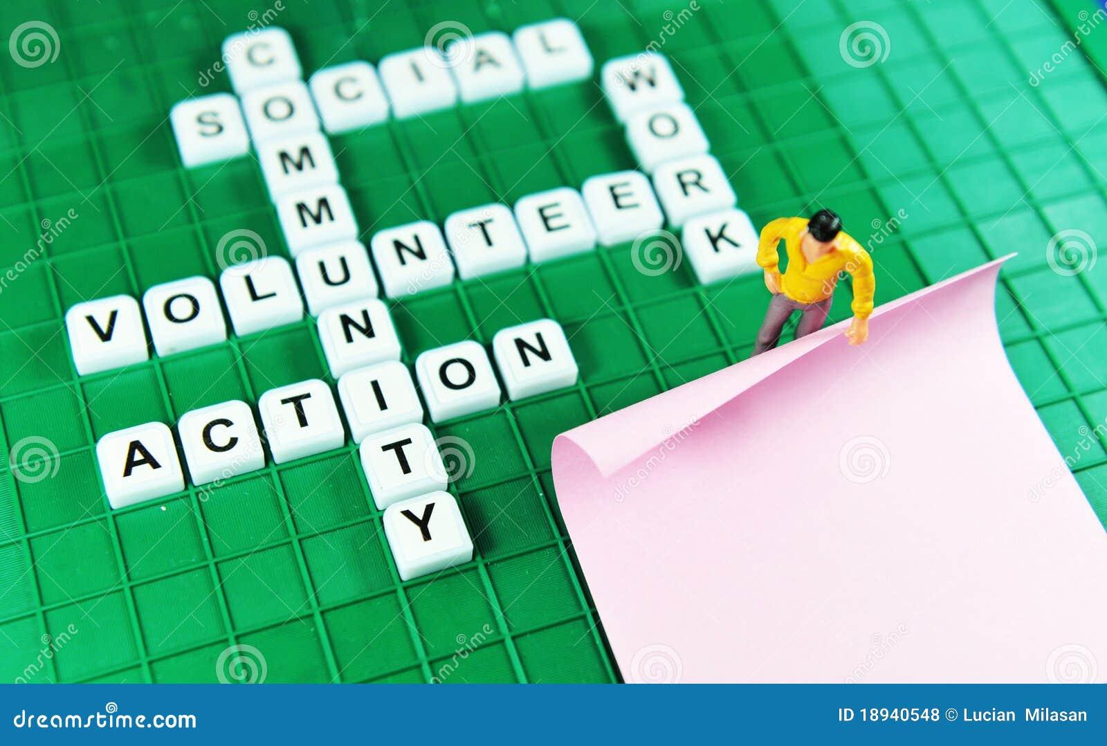 Ställa upp som frivillig