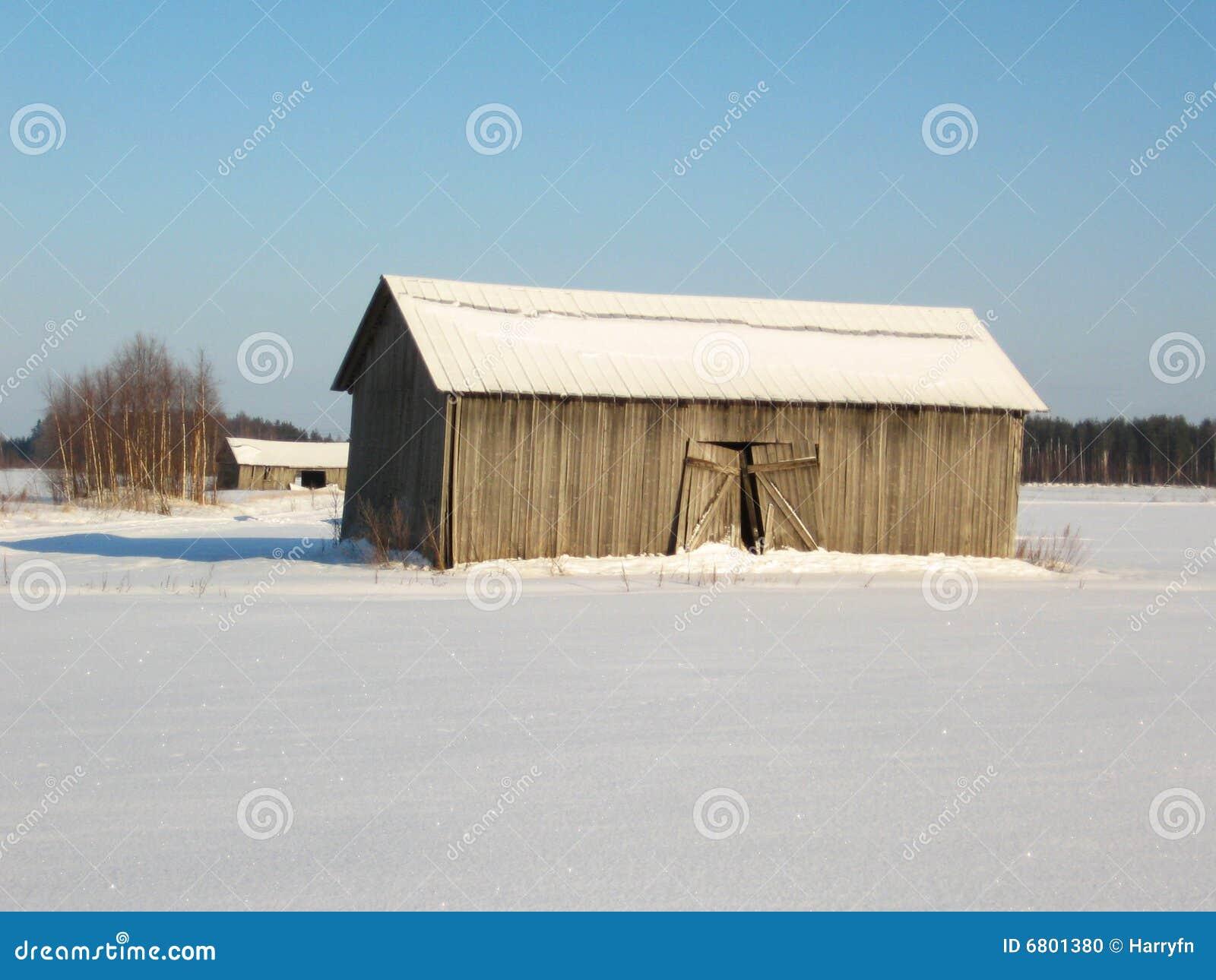 Ställe im Winter