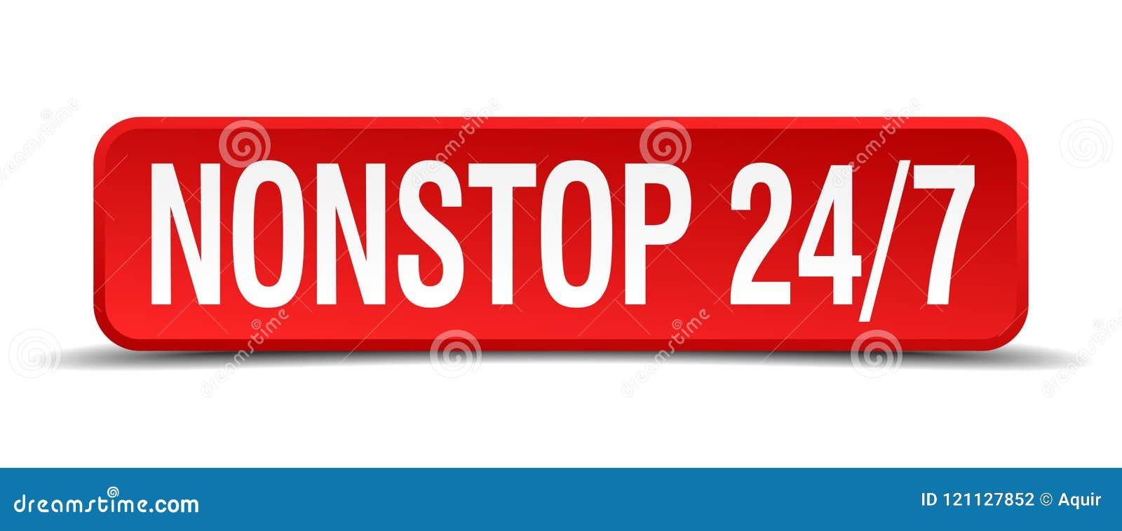 Ständig 24 knapp 7