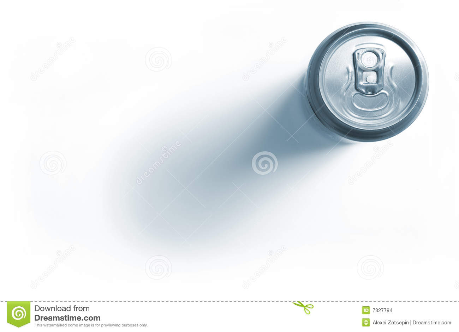 Stängd aluminum ölburk