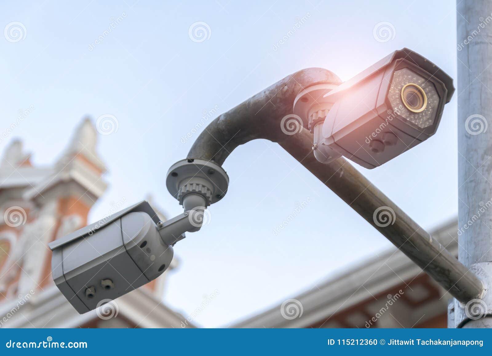 Stängt - strömkretskamera