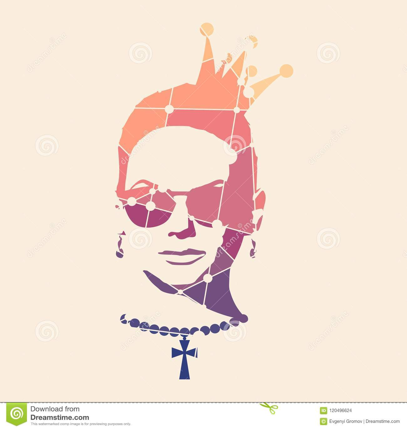 Stående av den härliga kvinnan i solglasögon