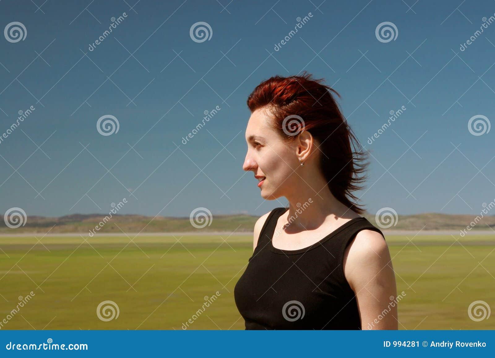 Ståendekvinna