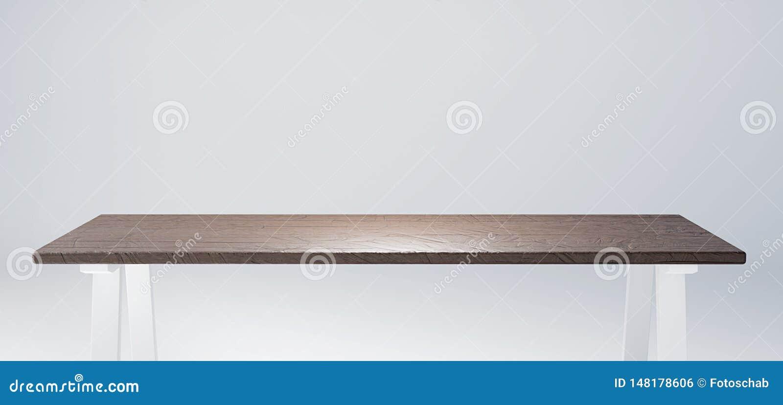Stół z nieociosany drewniany tabletop stosownym dla produktu pokazu 3d odp?acaj? si? image