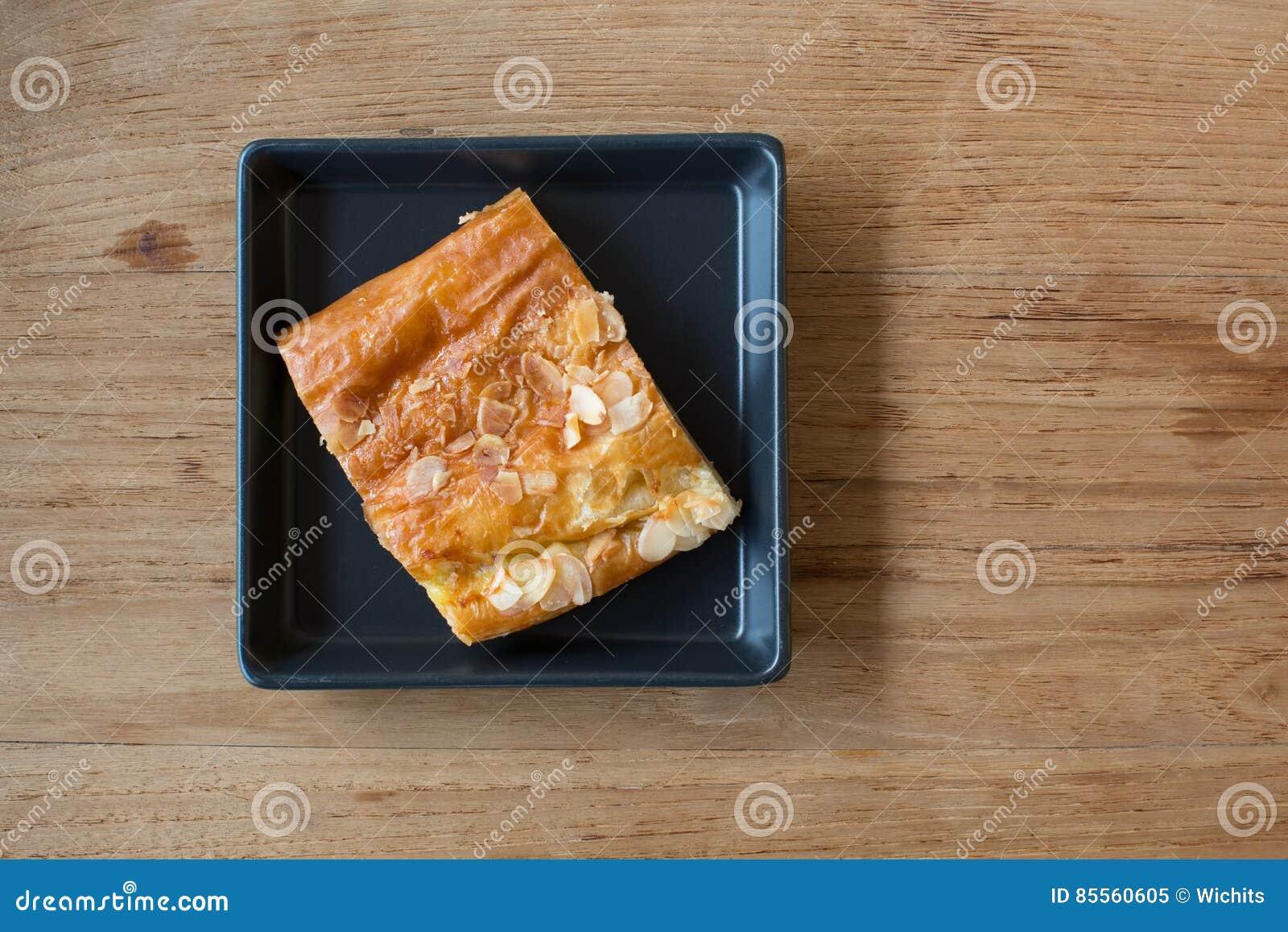 Stück Apfelkuchen