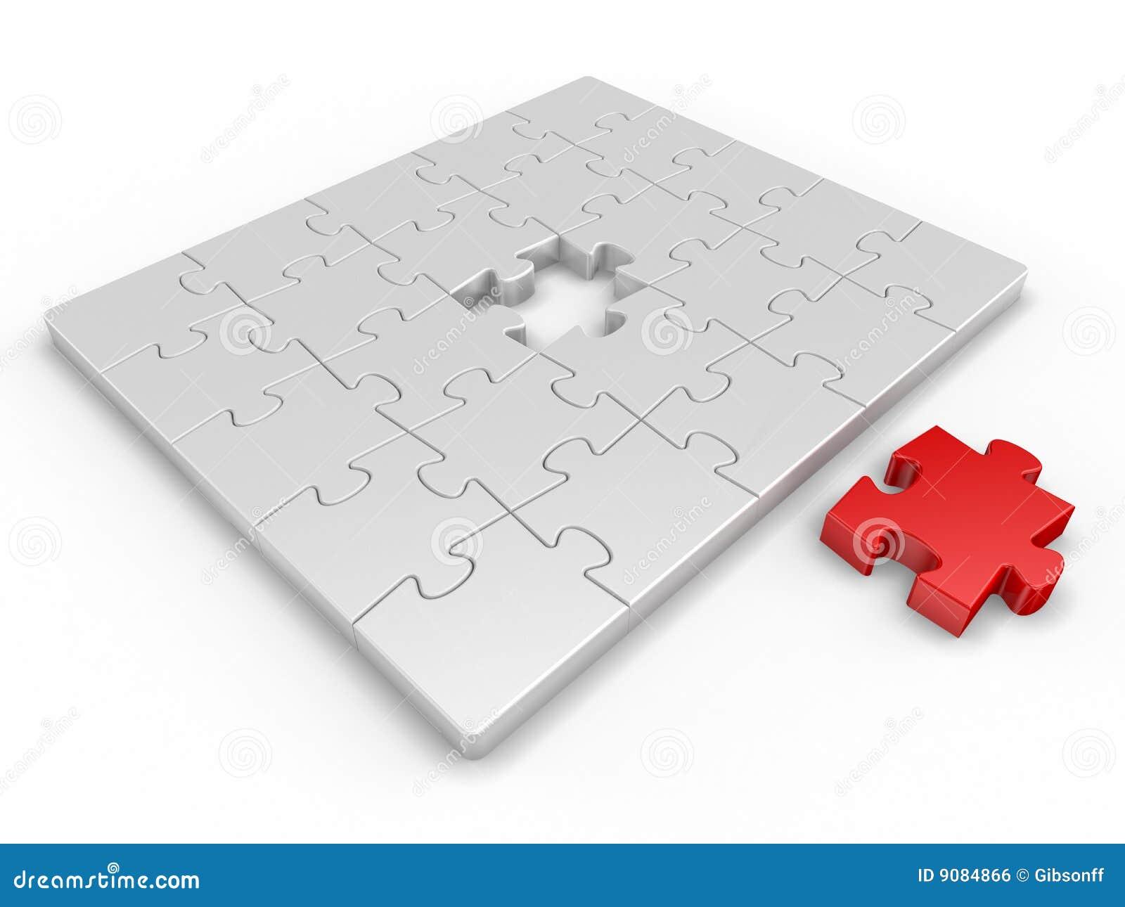 Stück für Puzzlespiel