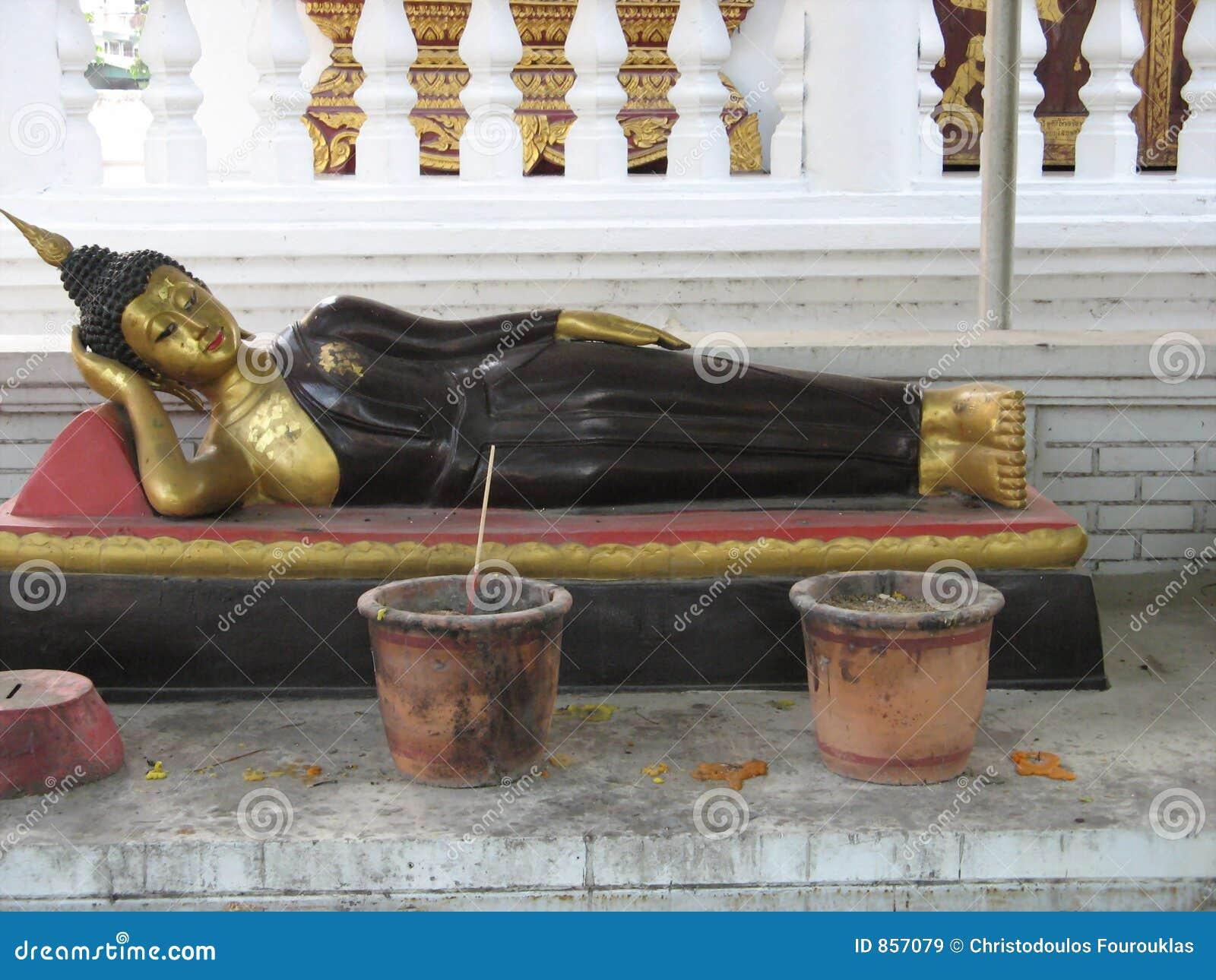 Stützender Buddha