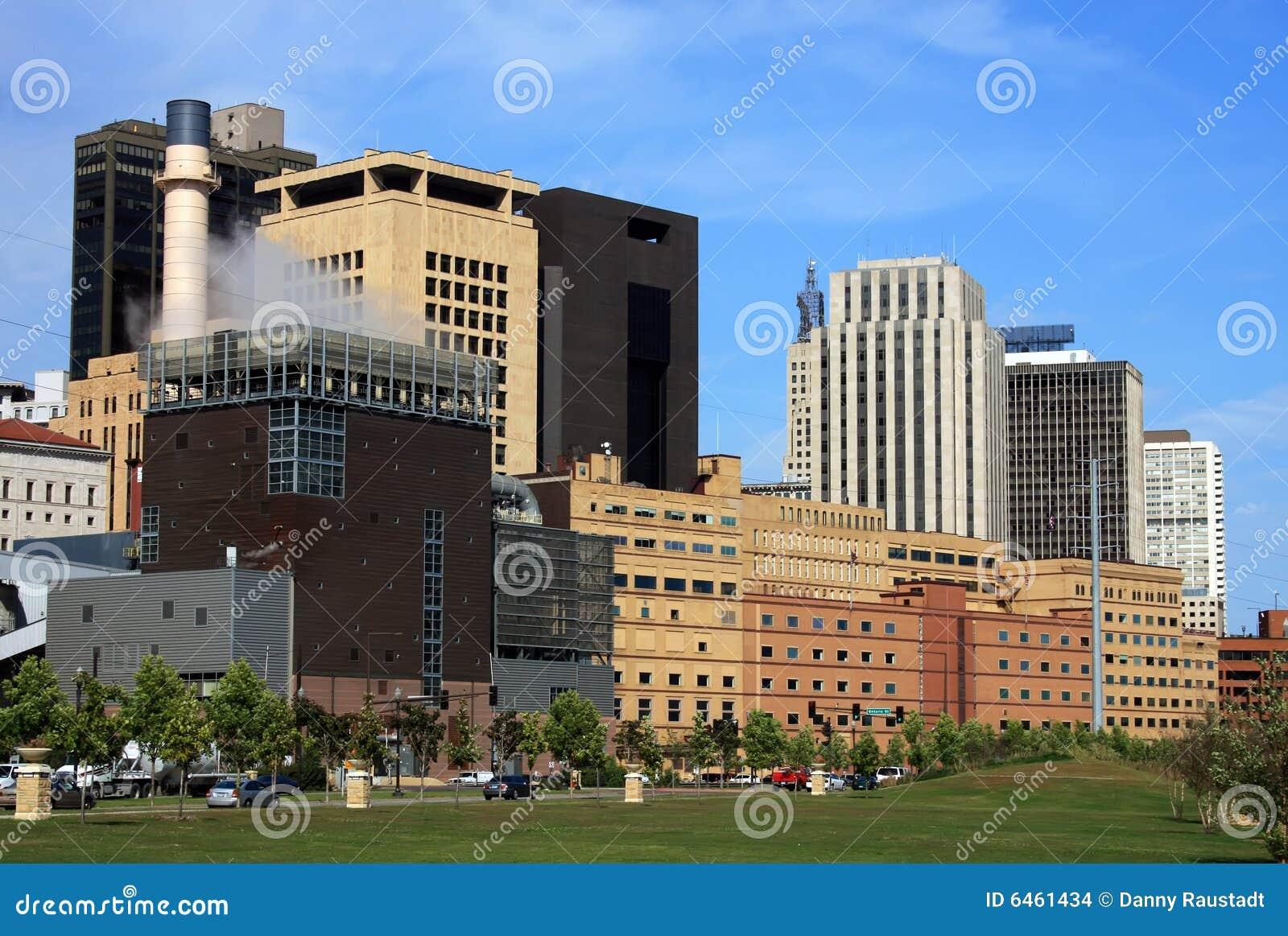 St Минесоты Паыля городского пейзажа