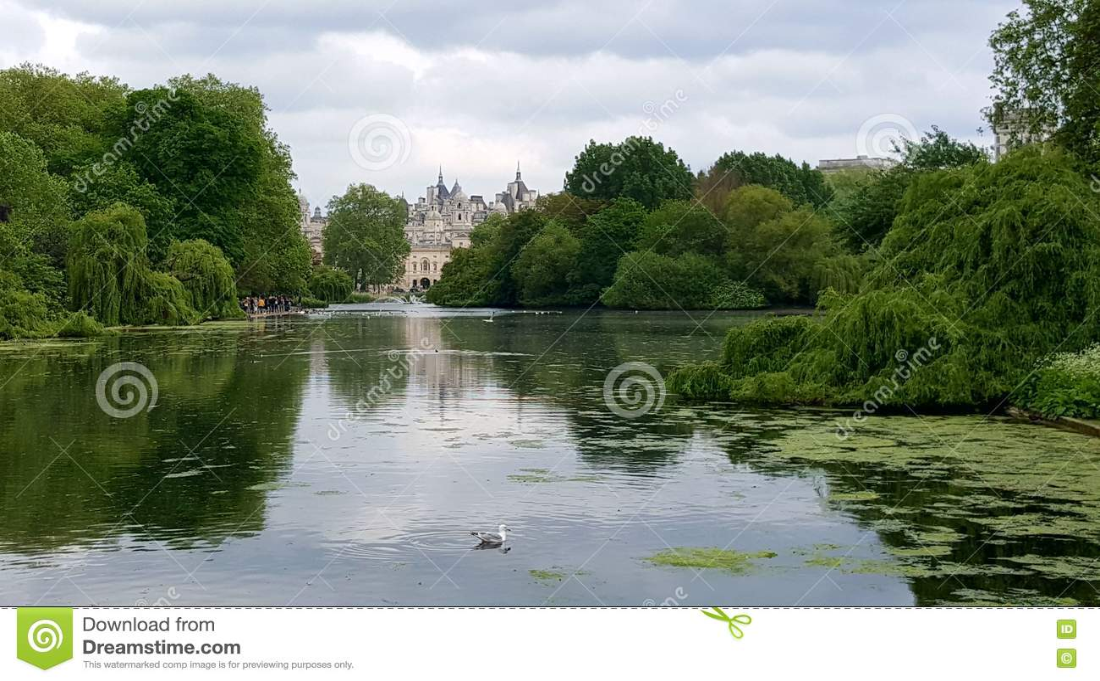 St парка Англии james london