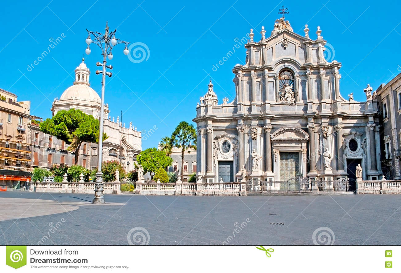 St Agatha Cathedral of Catania