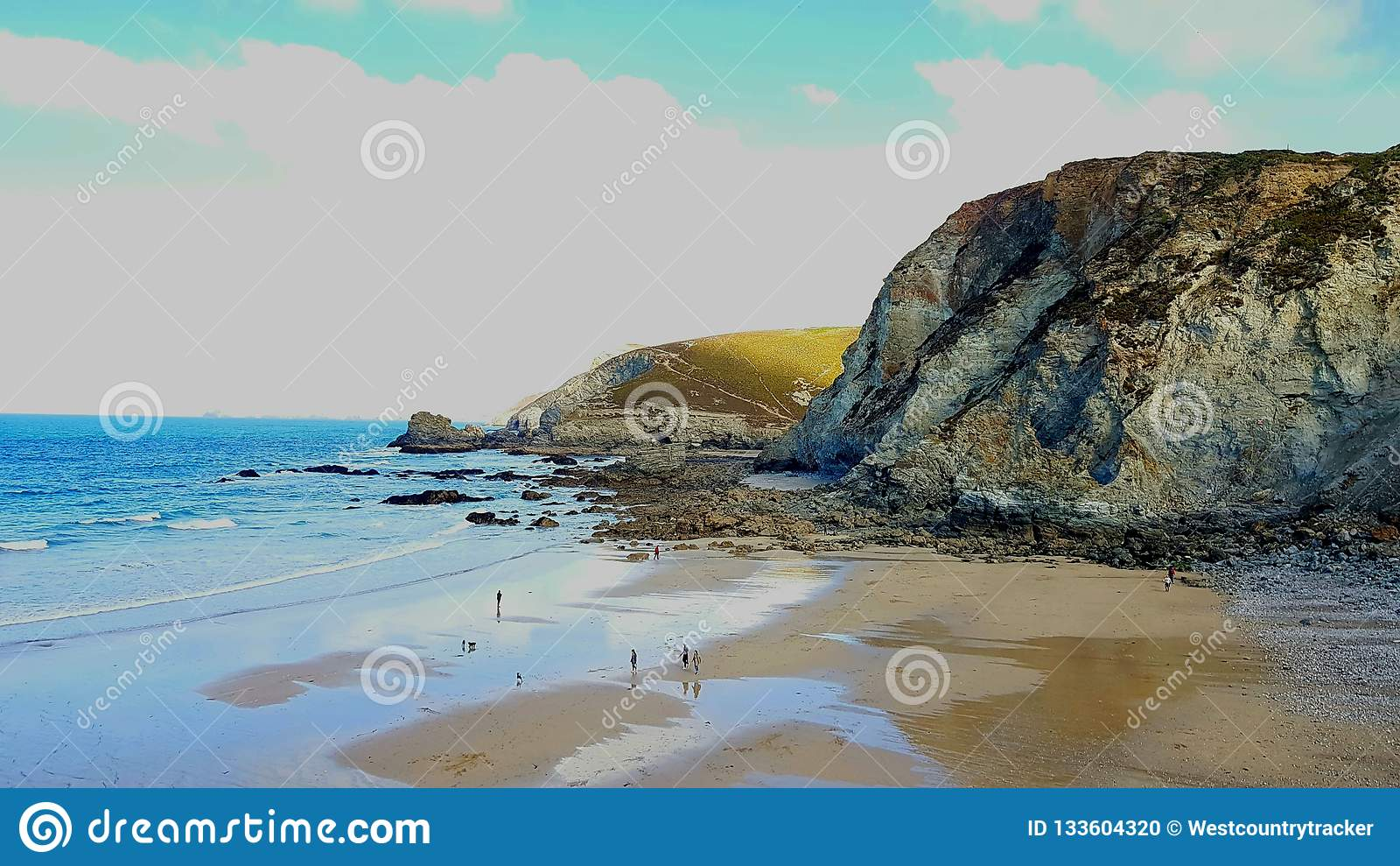 St Agnes is a civil parish and a large village on the north coast of Cornwall, England,