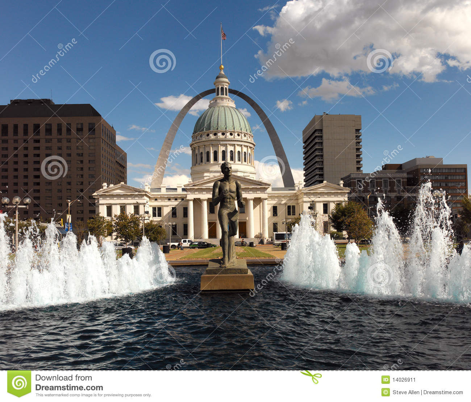 St Ameryka Louis Stany Zjednoczone -