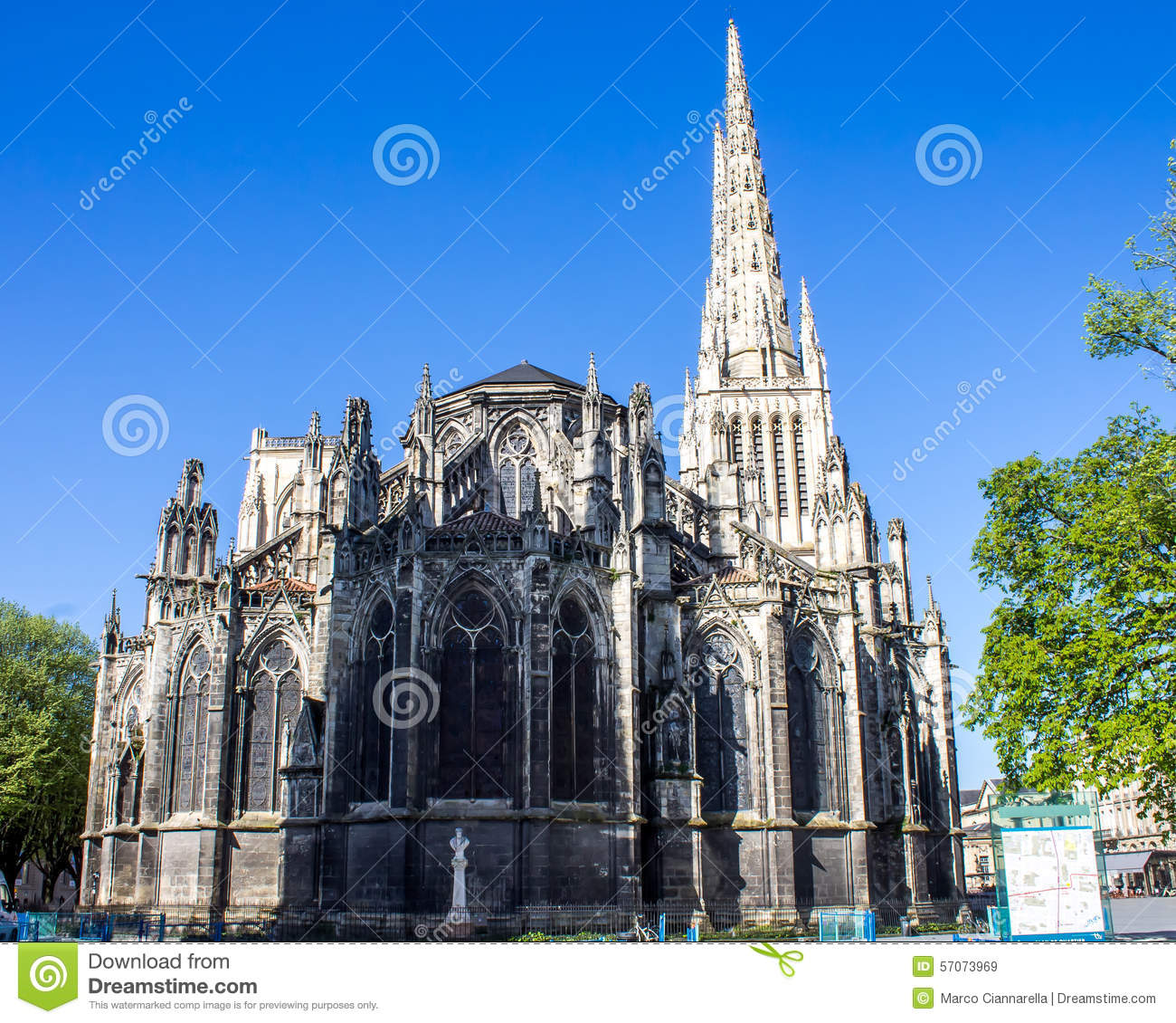 St Andrew Cathedral in Bordeaux