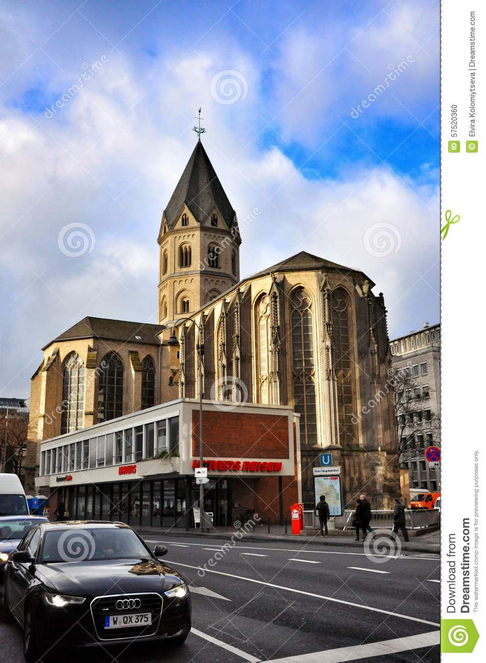 St Andrews Church in Cologne
