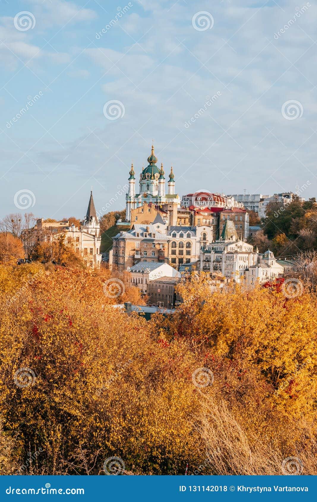 St Andrew ` s Kerk in Kiev