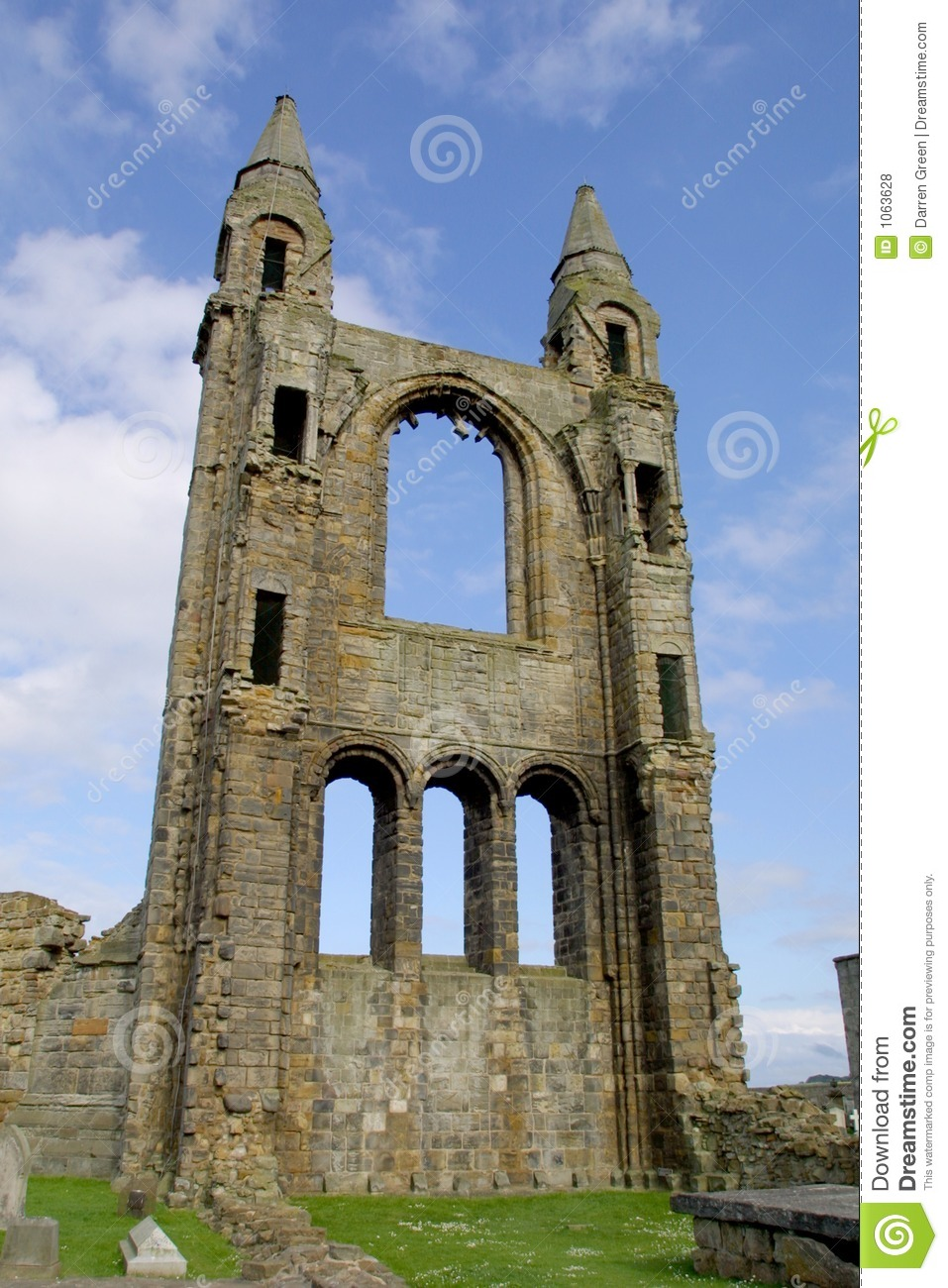 St Andrews Cathedral - Fife - Scotland