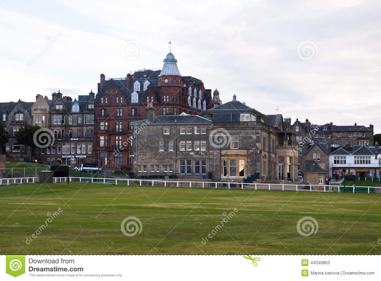 St. Andrews golf clubhouse