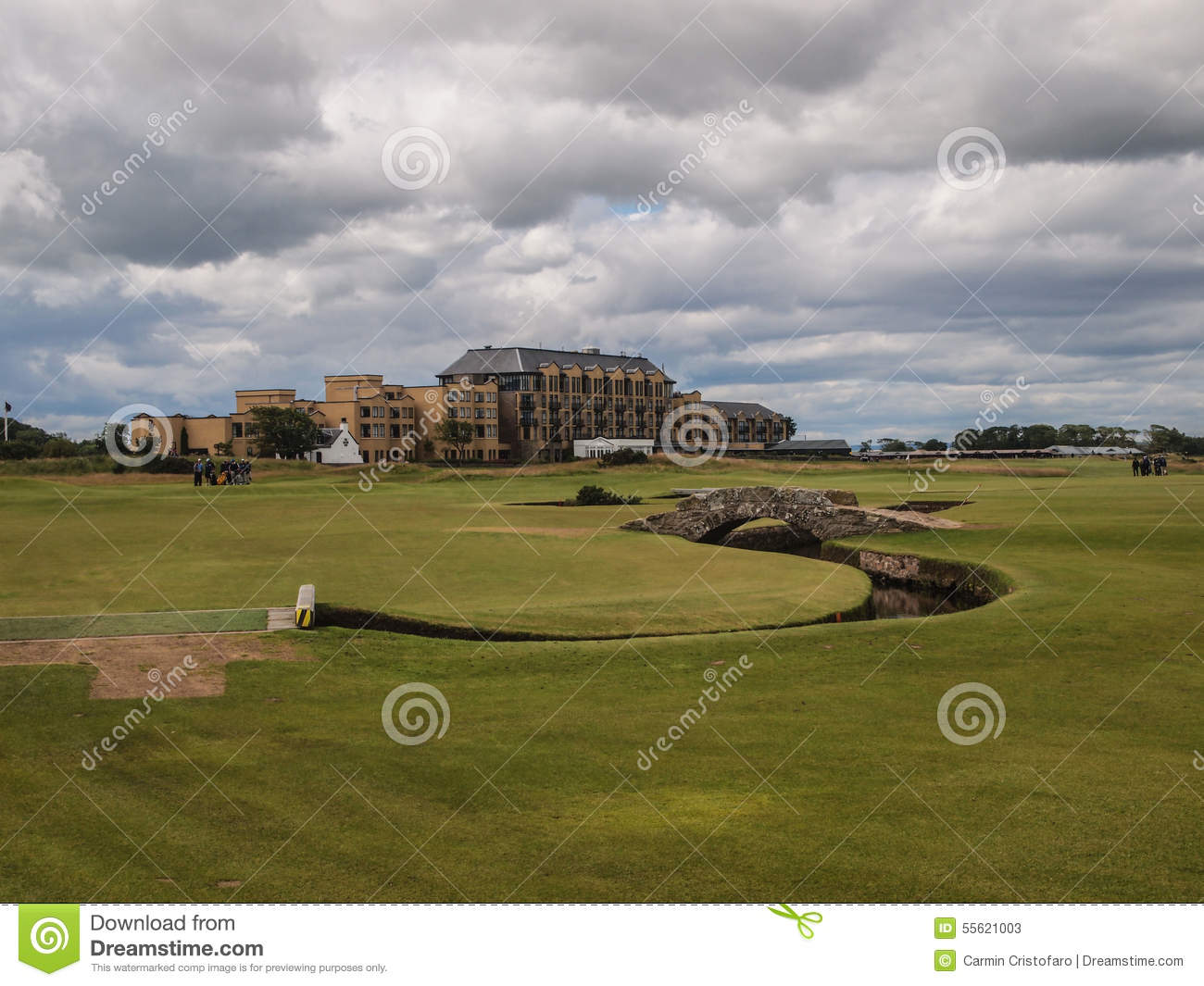 St Andrews Links Old Course golf course