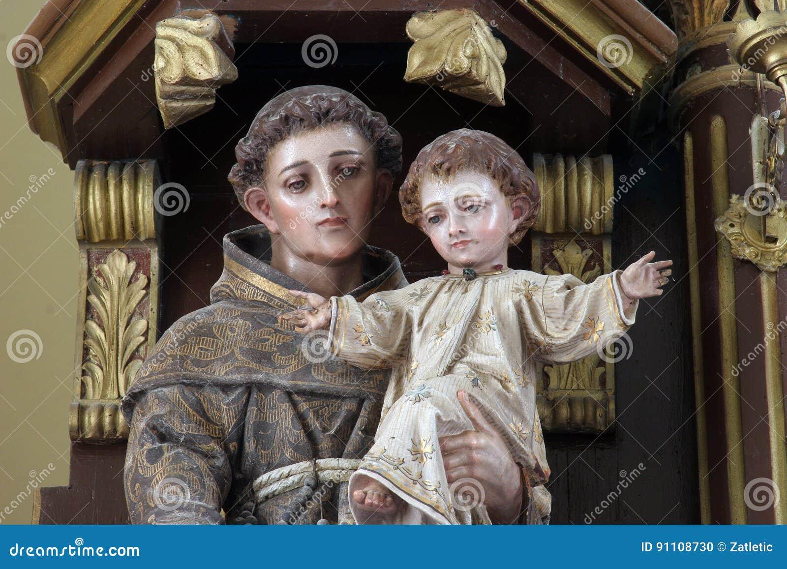 St Anthony de Padoue
