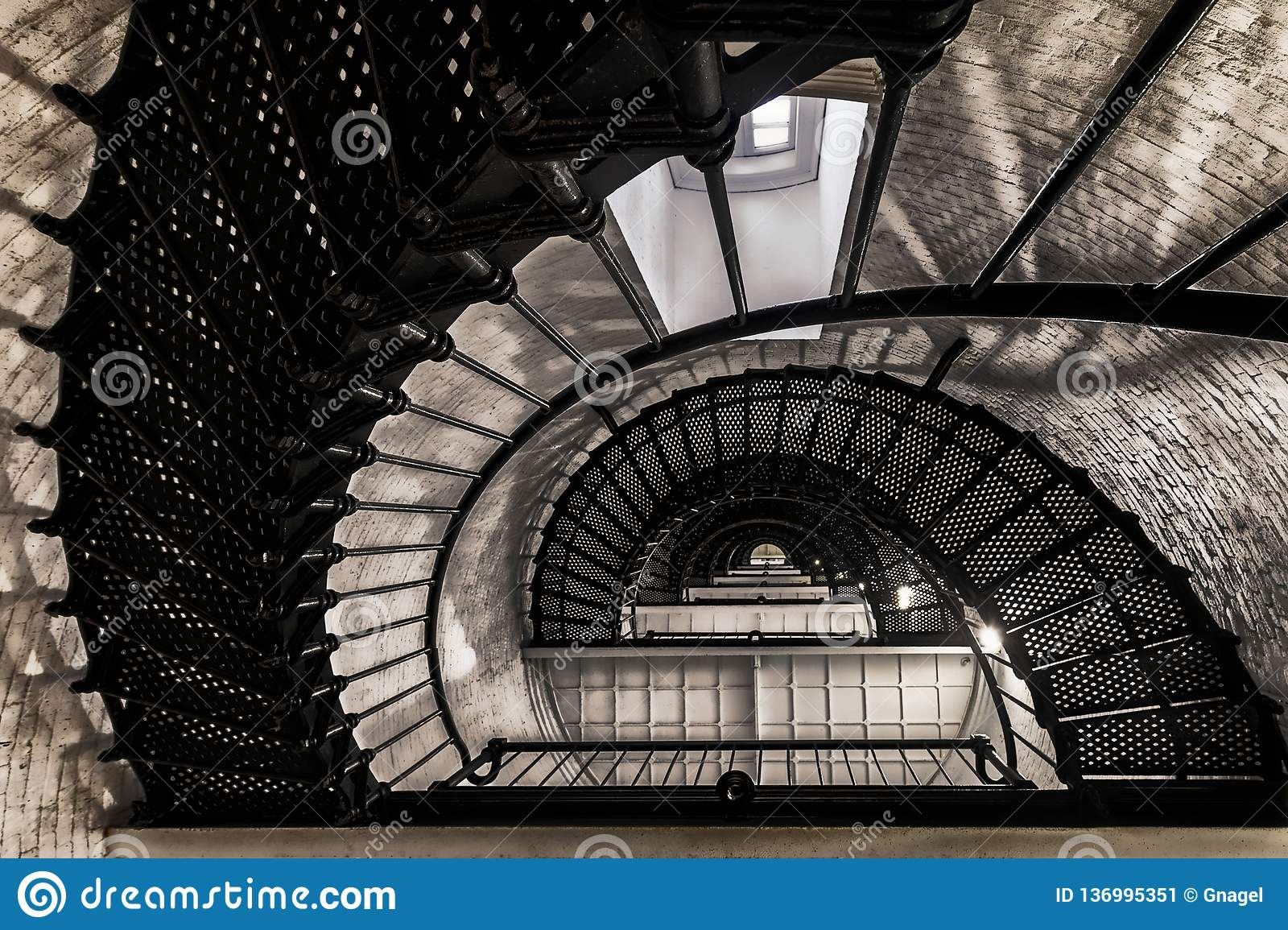 St. Augustine Lighthouse staircase