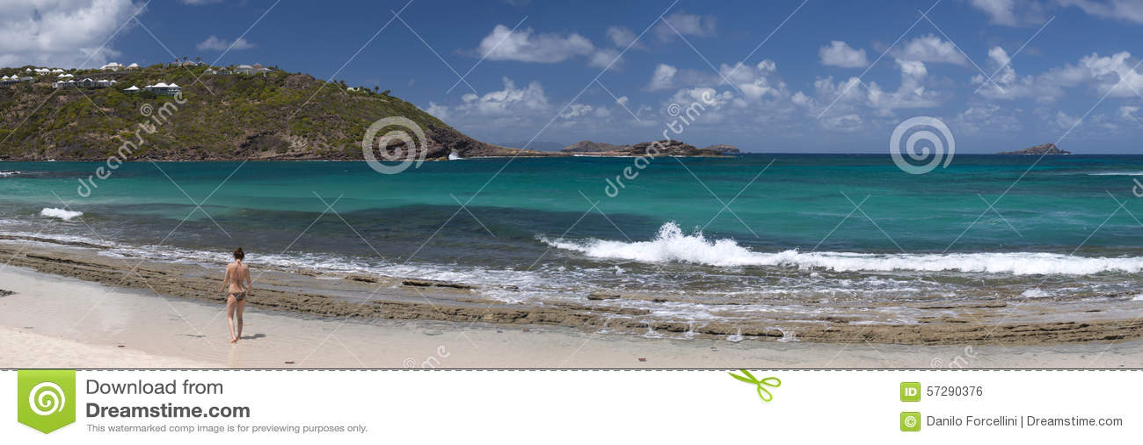 St Barth海岛,加勒比海